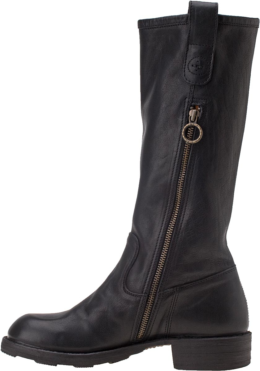 fiorentini baker billy boot black leather in black lyst