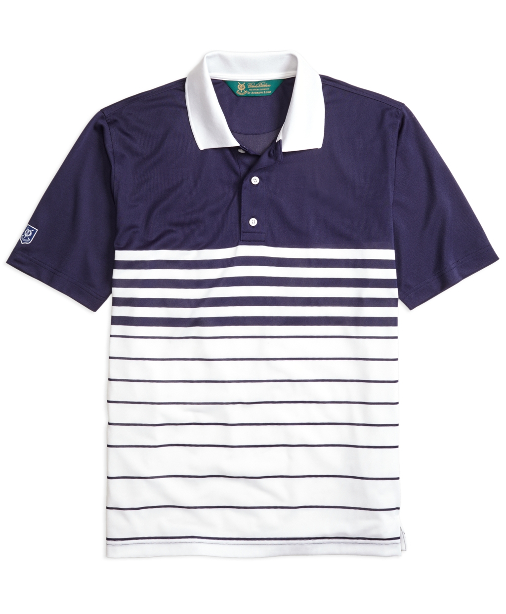 6b9ac726 Brooks Brothers St. Andrews Links Fade Stripe Golf Polo Shirt in ...