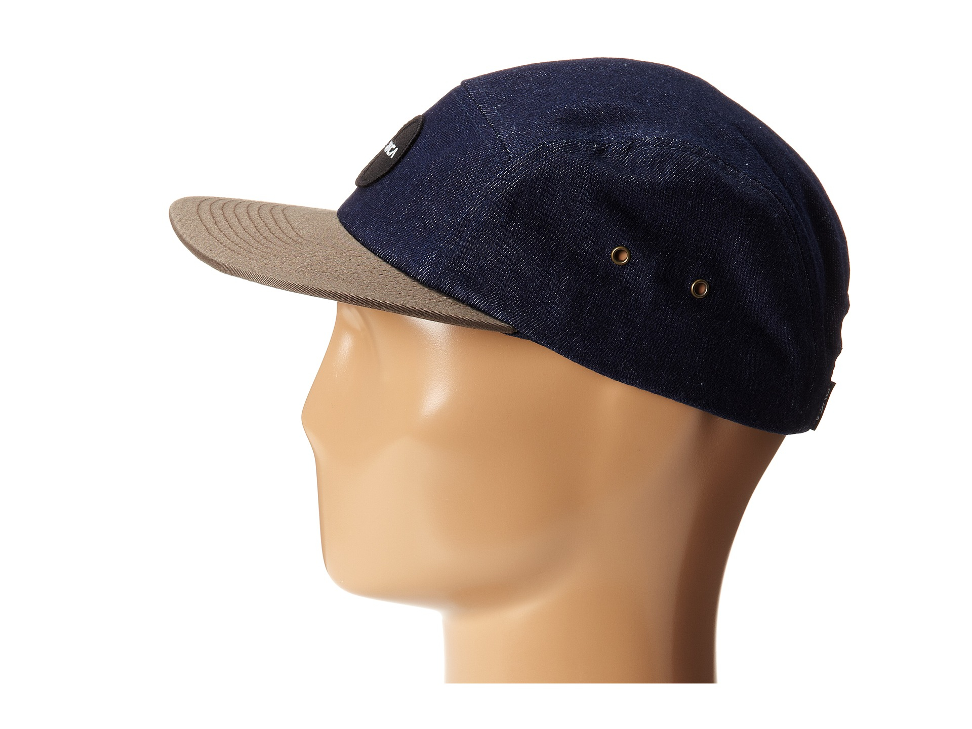 967a6cbc ... france lyst rvca twelve ounce five panel hat in blue for men b7487  0c95f ...