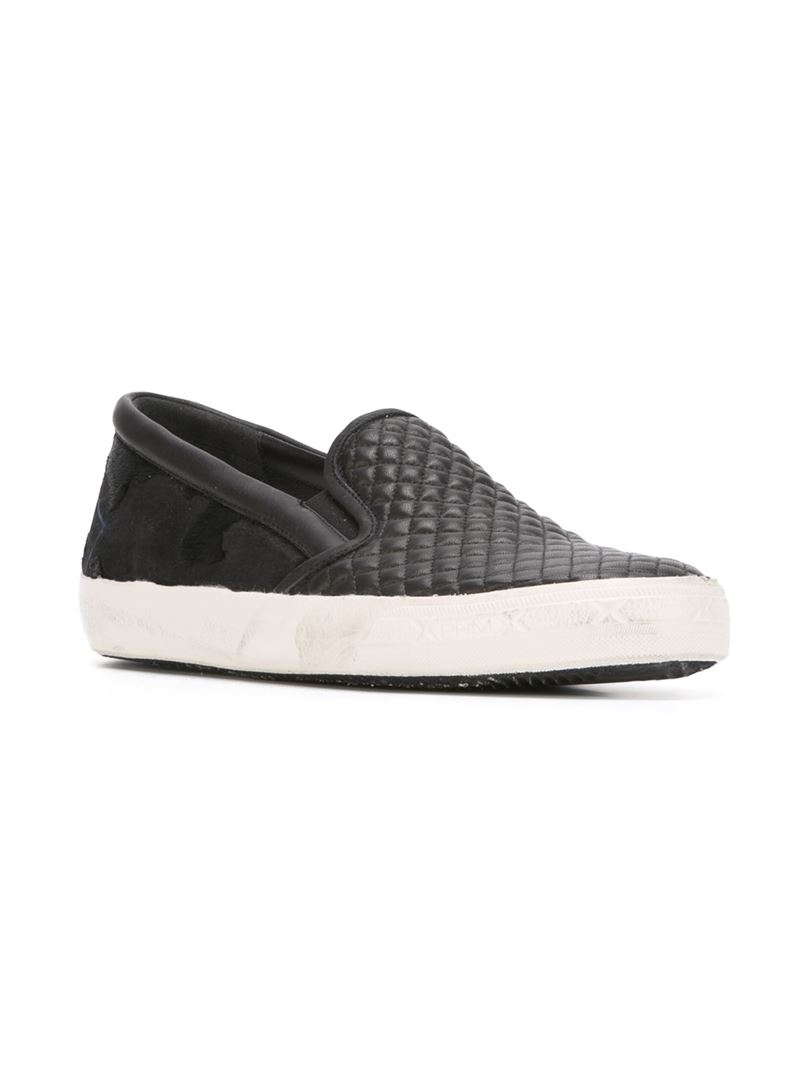 Lyst Philippe Model Quilted Slip On Sneakers In Black