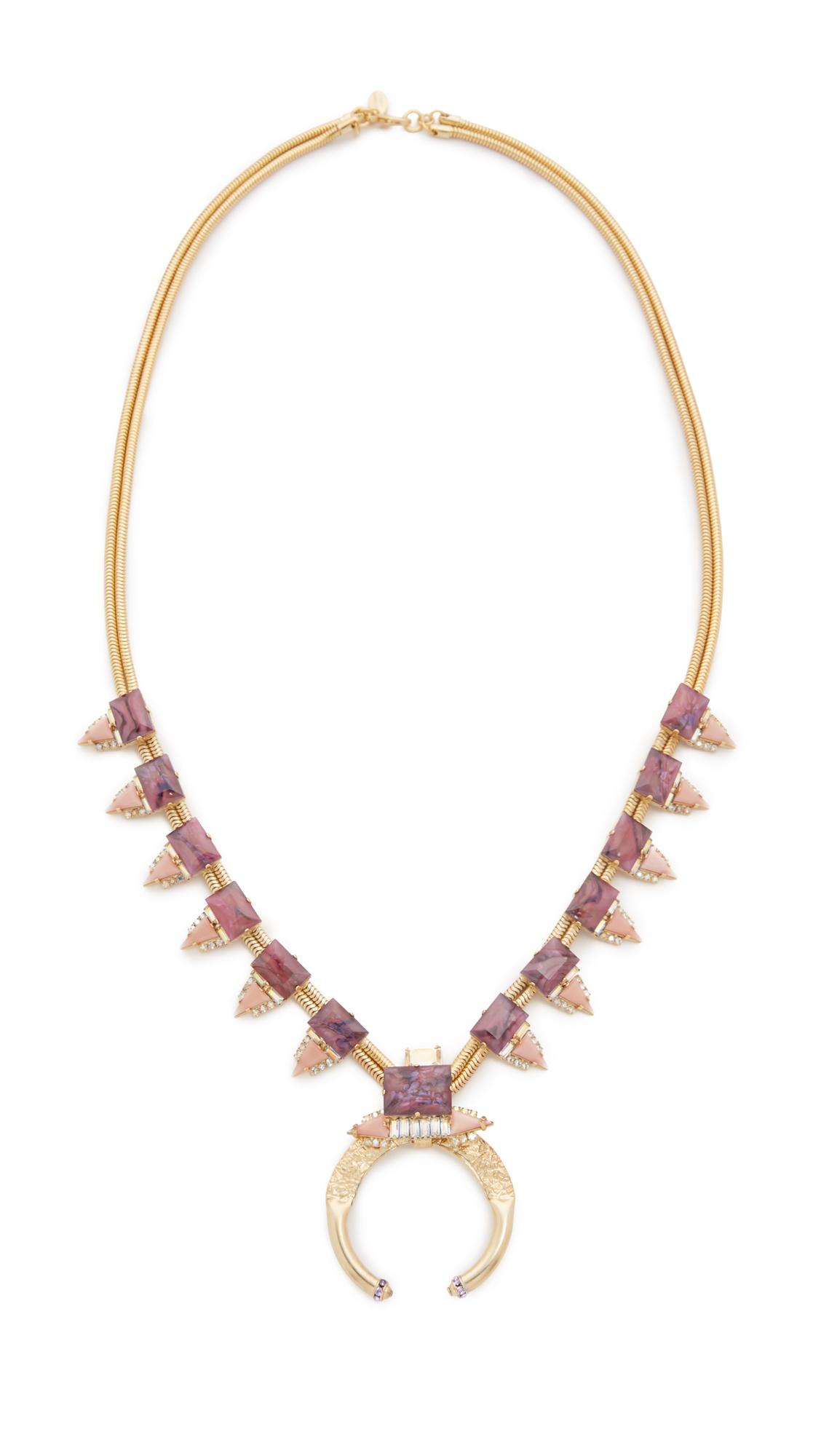 Elizabeth Cole Orbs Necklace SE0YEFTQCO