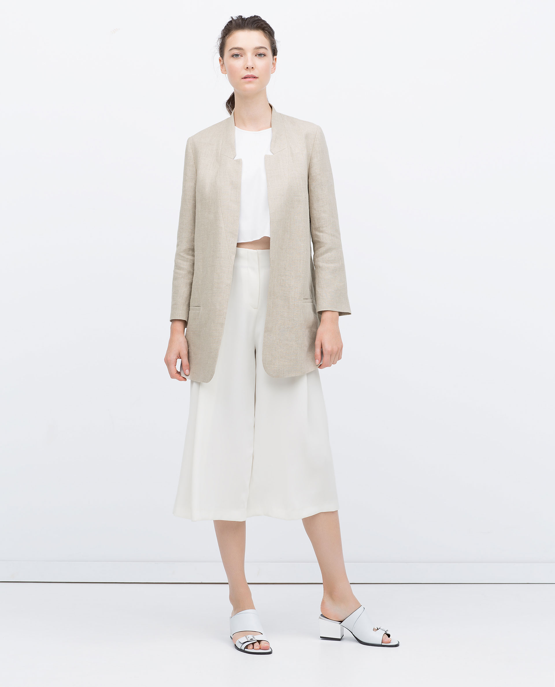 Linen Blazer Zara