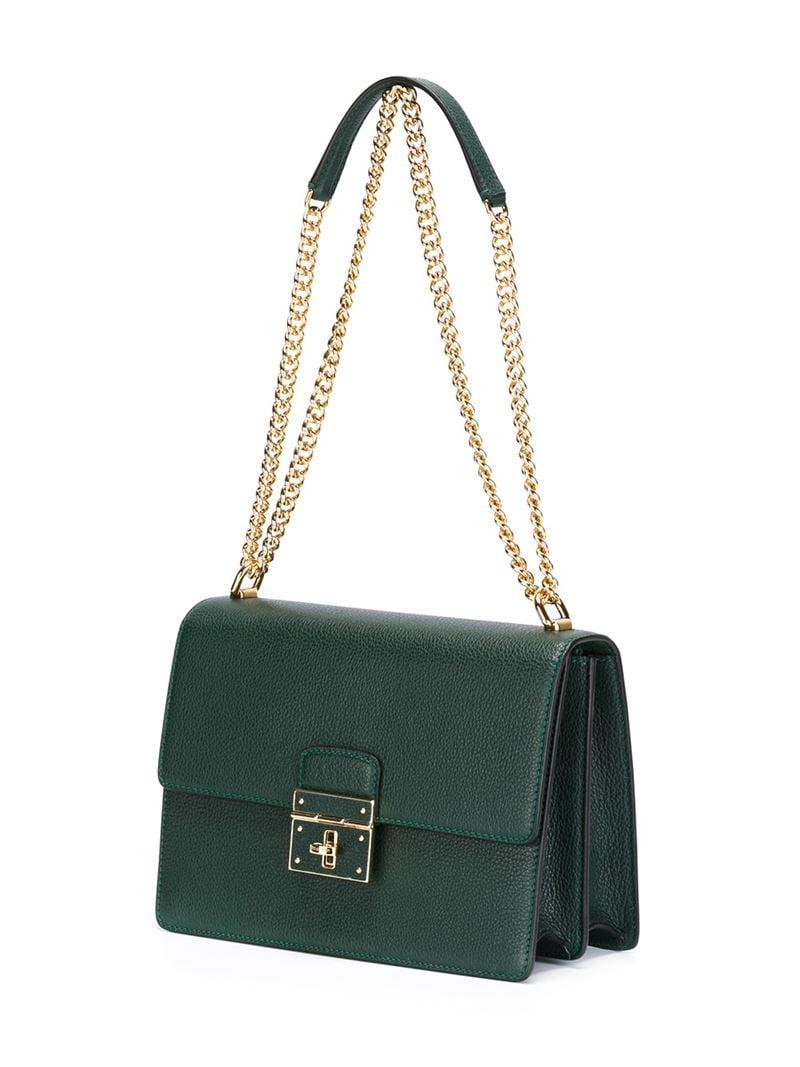 17407927d8 Lyst - Dolce   Gabbana  rosalia  Shoulder Bag in Green