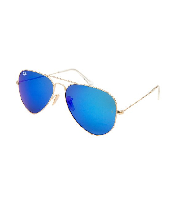45391e40394c Ray Ban Classic Gold Aviators With Blue Lenses « Heritage Malta