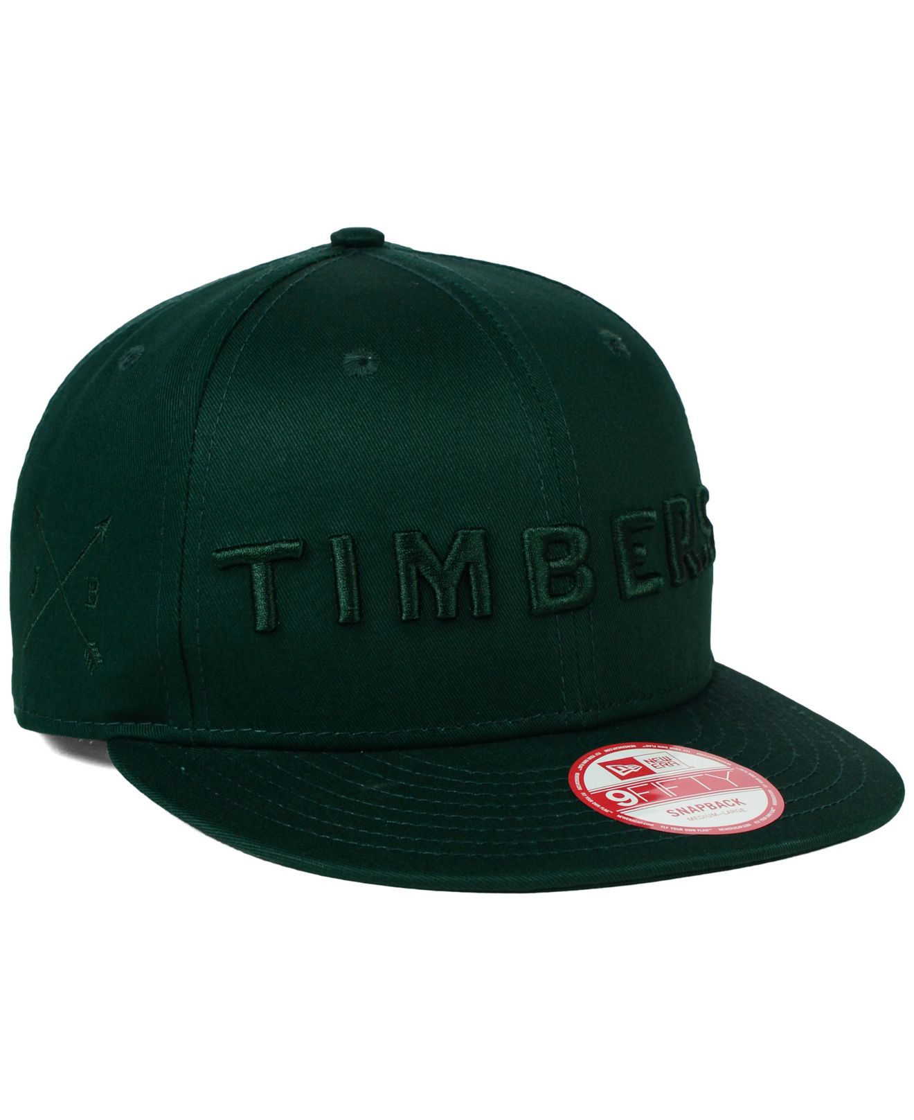 08dccb5dfe4a8 ... top quality 50 off lyst ktz portland timbers undefeated 9fifty snapback  cap in black bc48e ec58b