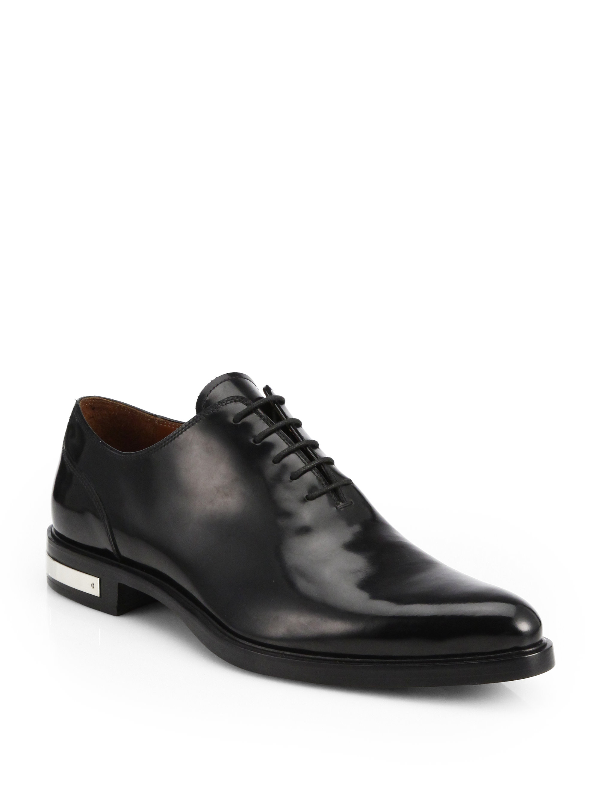 Lyst - Givenchy Richelieu Lace-Up Dress Shoes in Black for Men e5178c6ef2dd