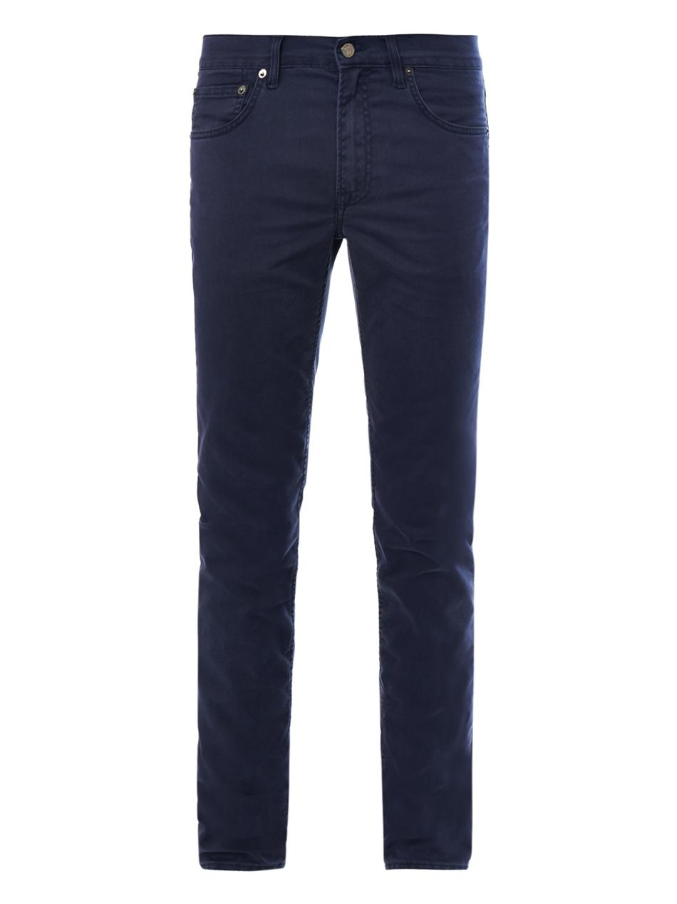 acne studios ace skinny jeans in blue for men lyst. Black Bedroom Furniture Sets. Home Design Ideas