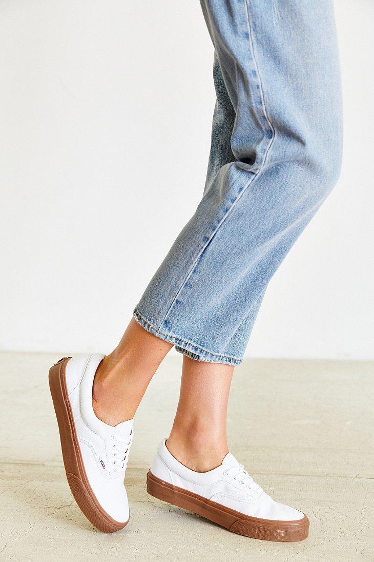 4ae6b198945b Lyst - Vans Era Gumsole Shoe in White