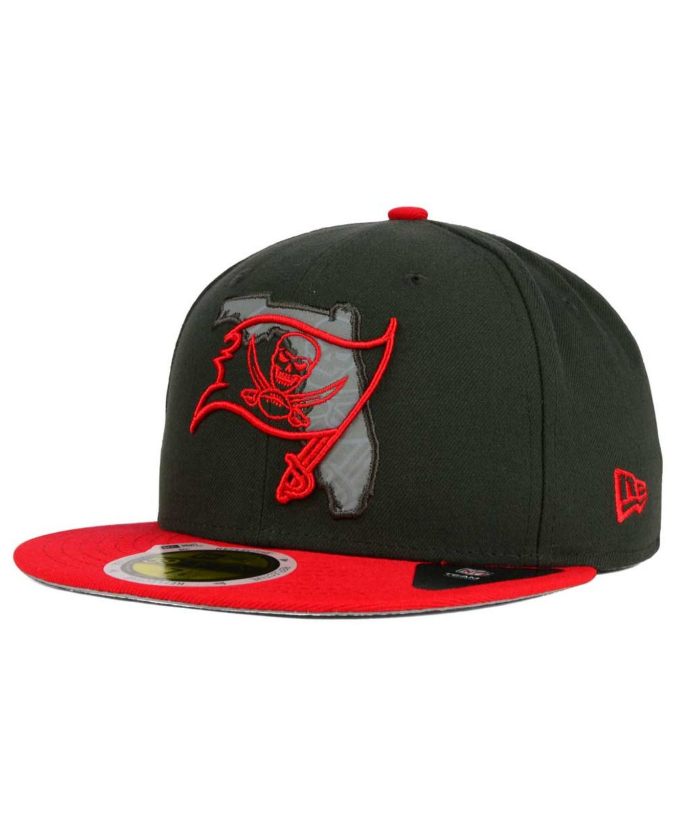Lyst - KTZ Tampa Bay Buccaneers State Flective Redux 59fifty Cap in ... d6316e8a6