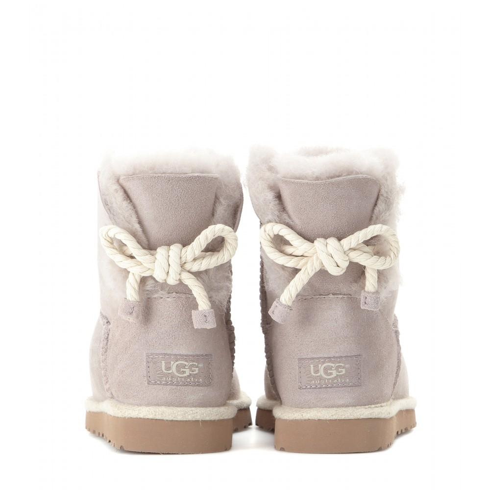 Ugg Selene Boots In Gray Lyst
