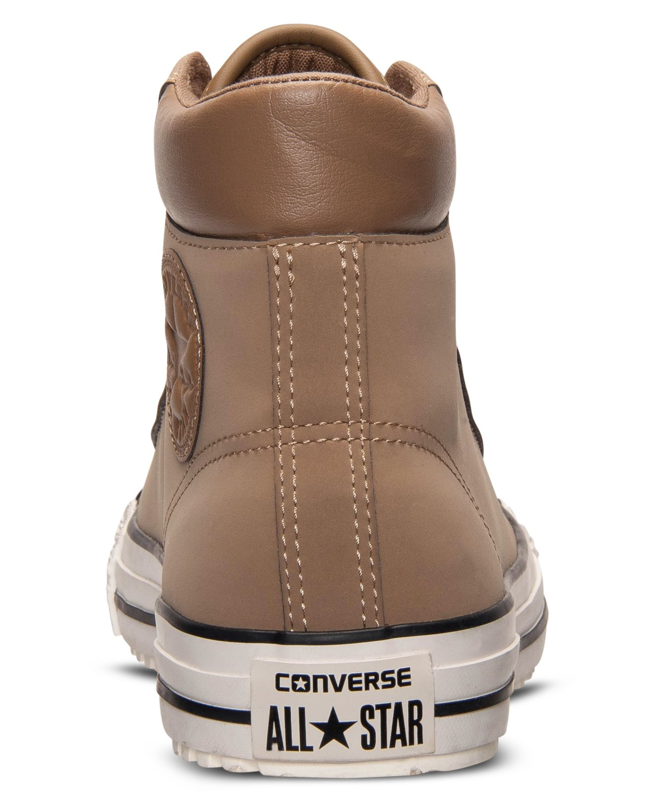 Converse Chuck Taylor All Star Boot Pc Sneakers Brown Shoes Unisex Swede Leather