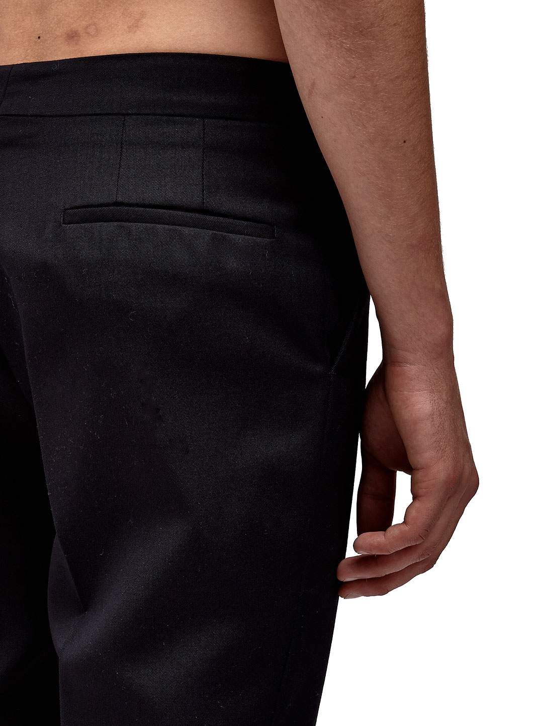 Raf simons / Sterling Ruby Mens Classic Fit Pants in Black ...