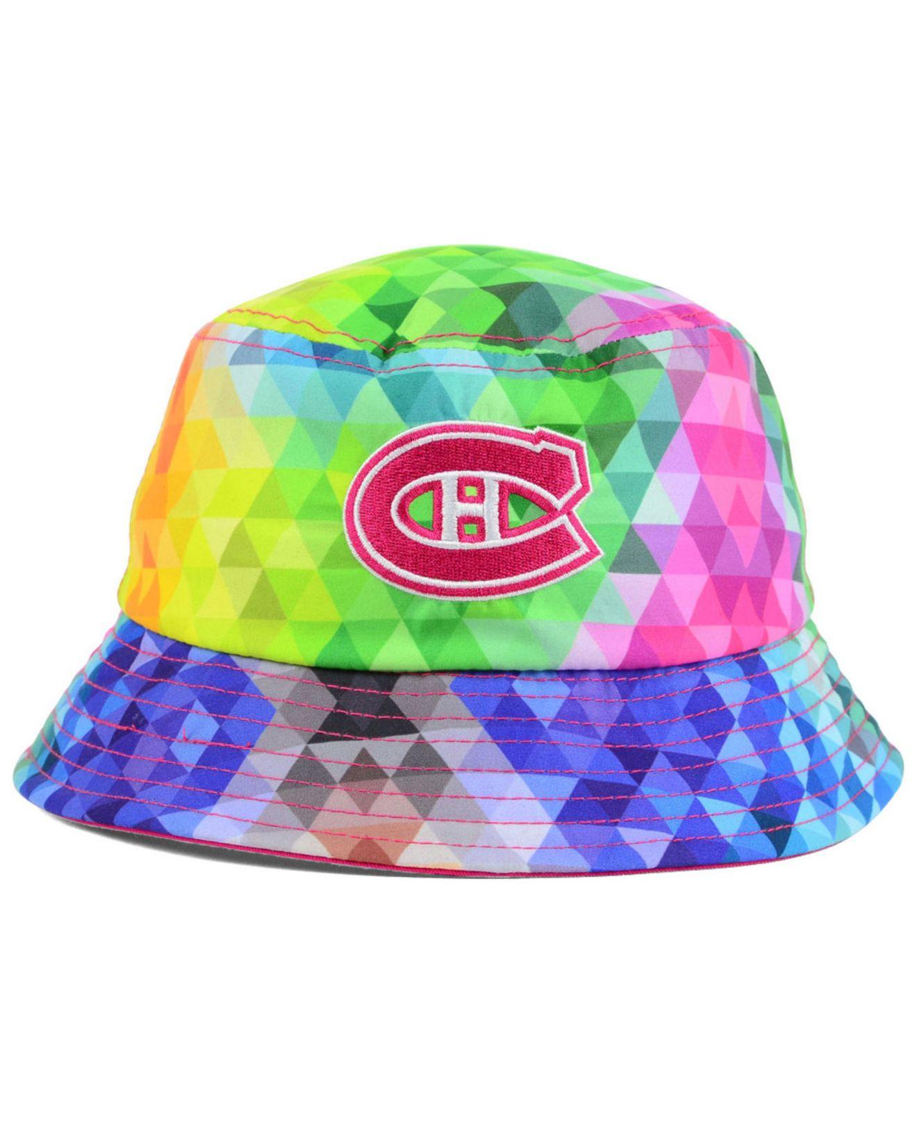 Lyst - KTZ Girls  Montreal Canadiens Gem Bucket Hat 6e8e3774bca6