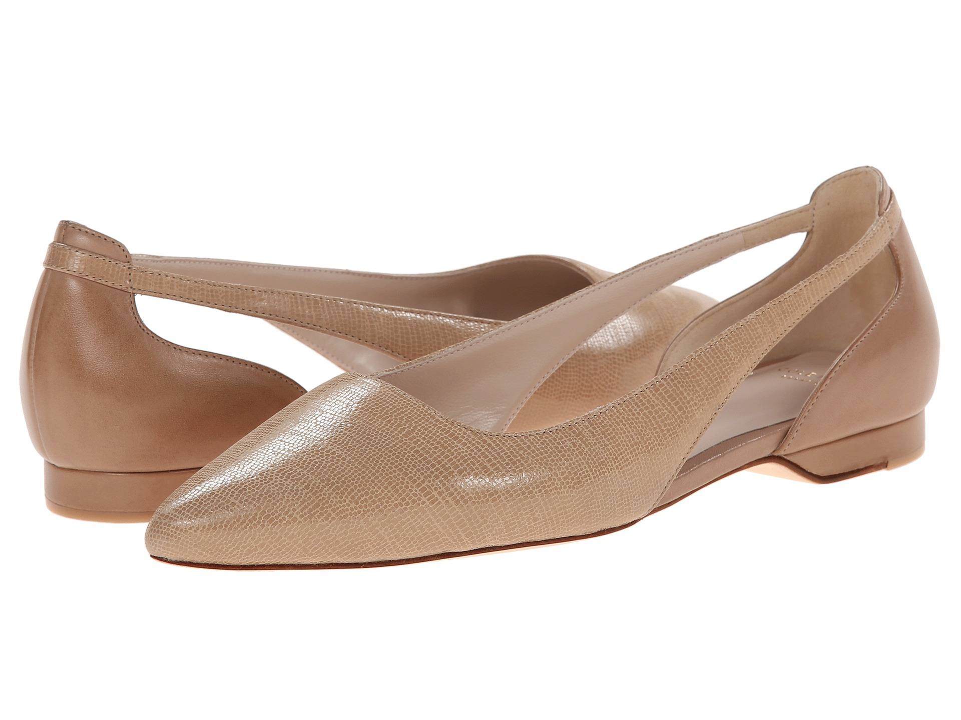 01d565572e61 Lyst - Cole Haan Amalia Sling Skimmer in Natural