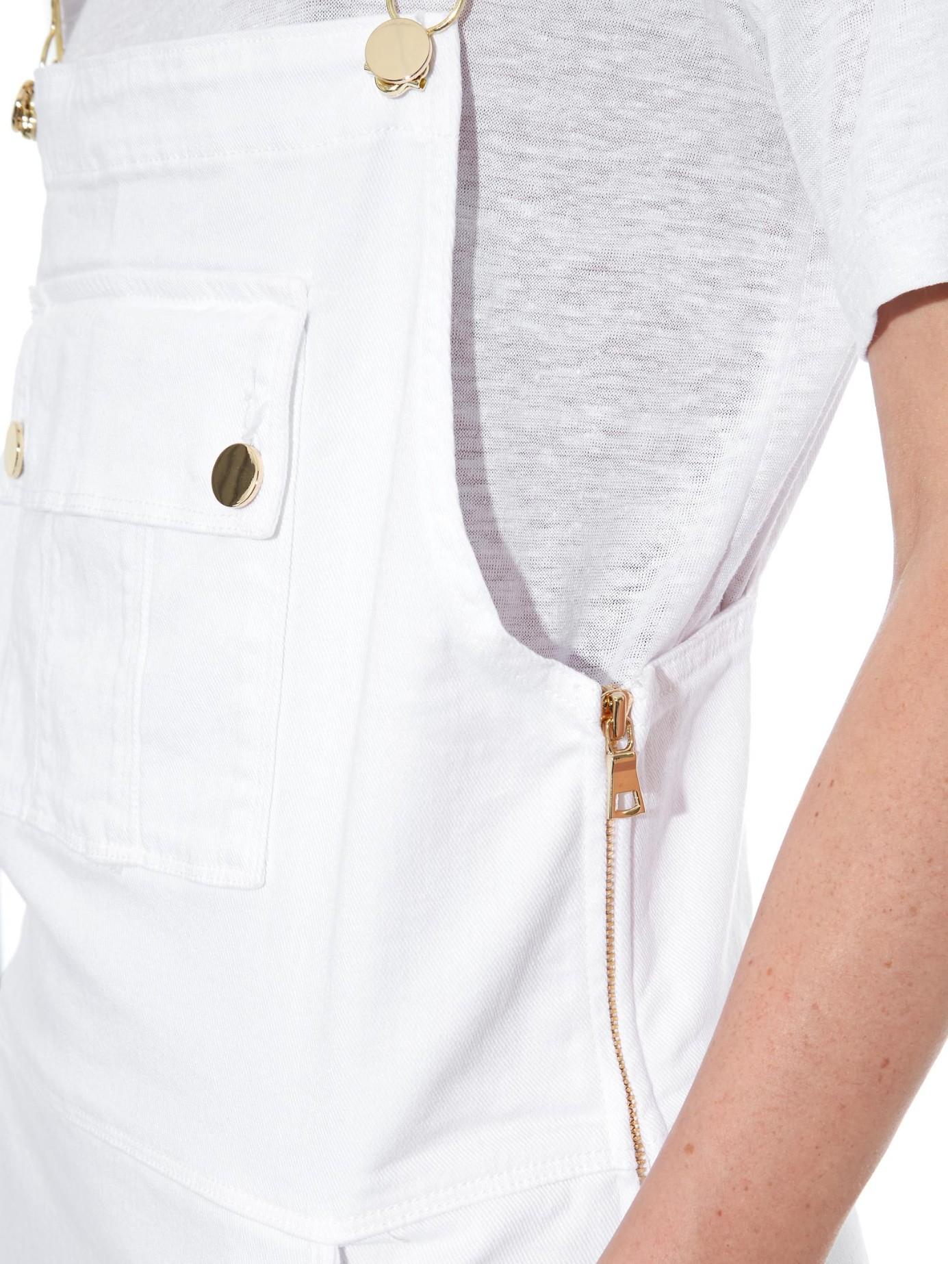 White denim apron - Gallery