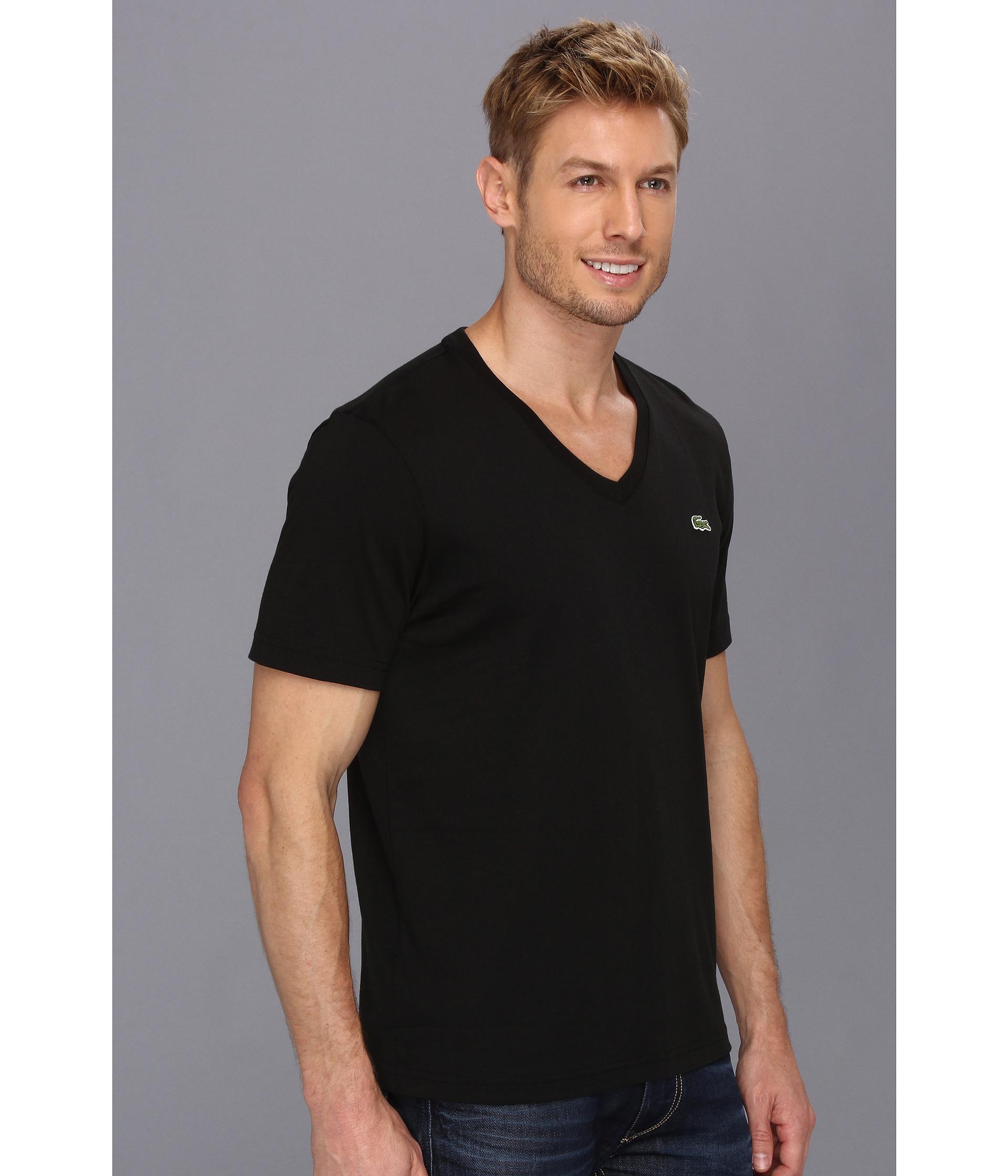 1455b98f1a Lacoste Live Basic V Neck T Shirt | Azərbaycan Dillər Universiteti