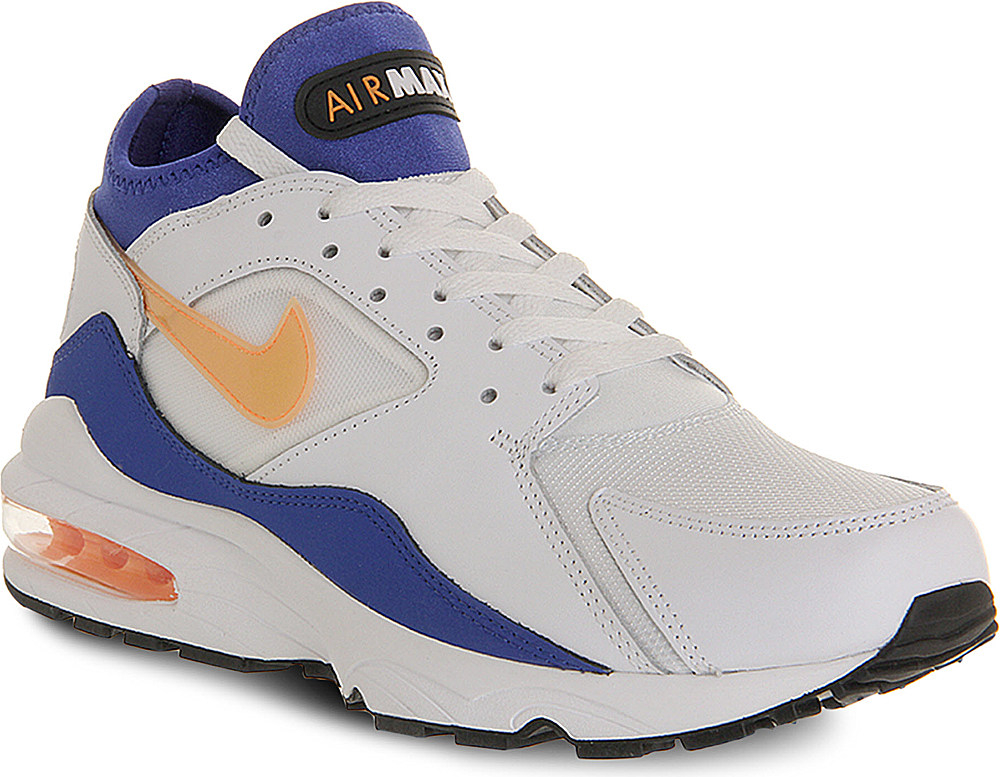 nike air max 93 trainers for men in white for men white. Black Bedroom Furniture Sets. Home Design Ideas
