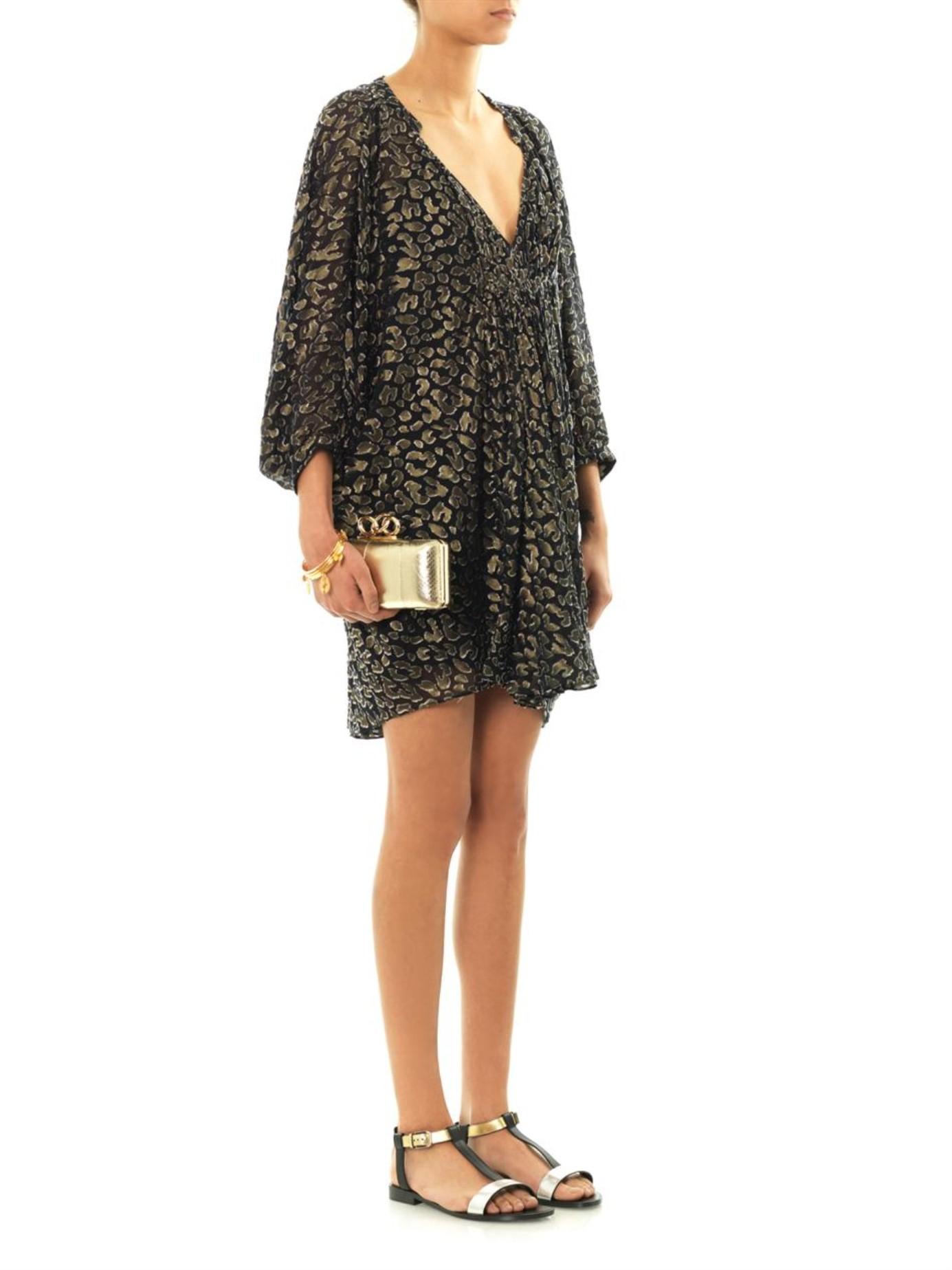 aca10547d92e Lyst - Diane von Furstenberg Fleurette Dress in Black