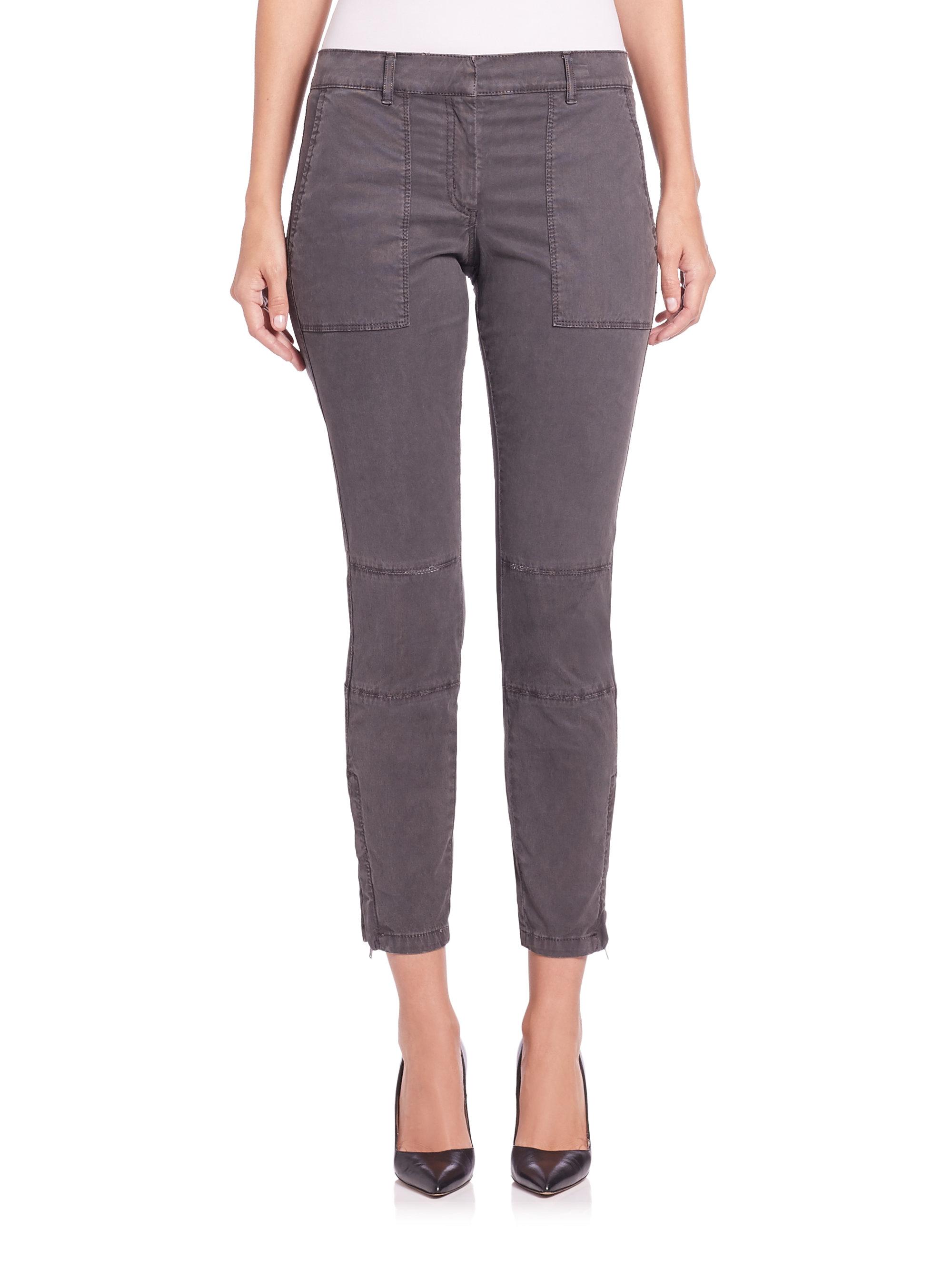 Creative Napapijri Cargo Pants In Gray Grey  Lyst