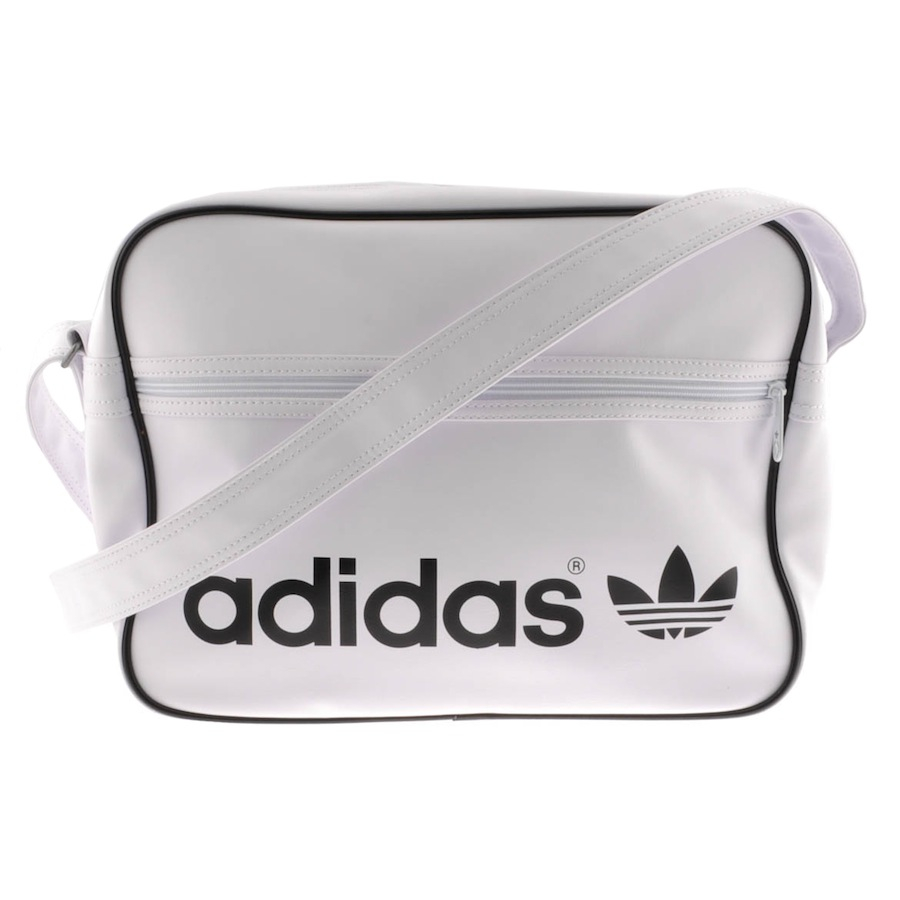 Adidas Ac Airline Laukku   Adidas originals ac airline bag in white lyst cf8daec95376f