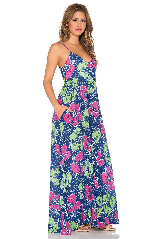 e7cf426b44 Lyst - Indah Penda Pocket Maxi Dress