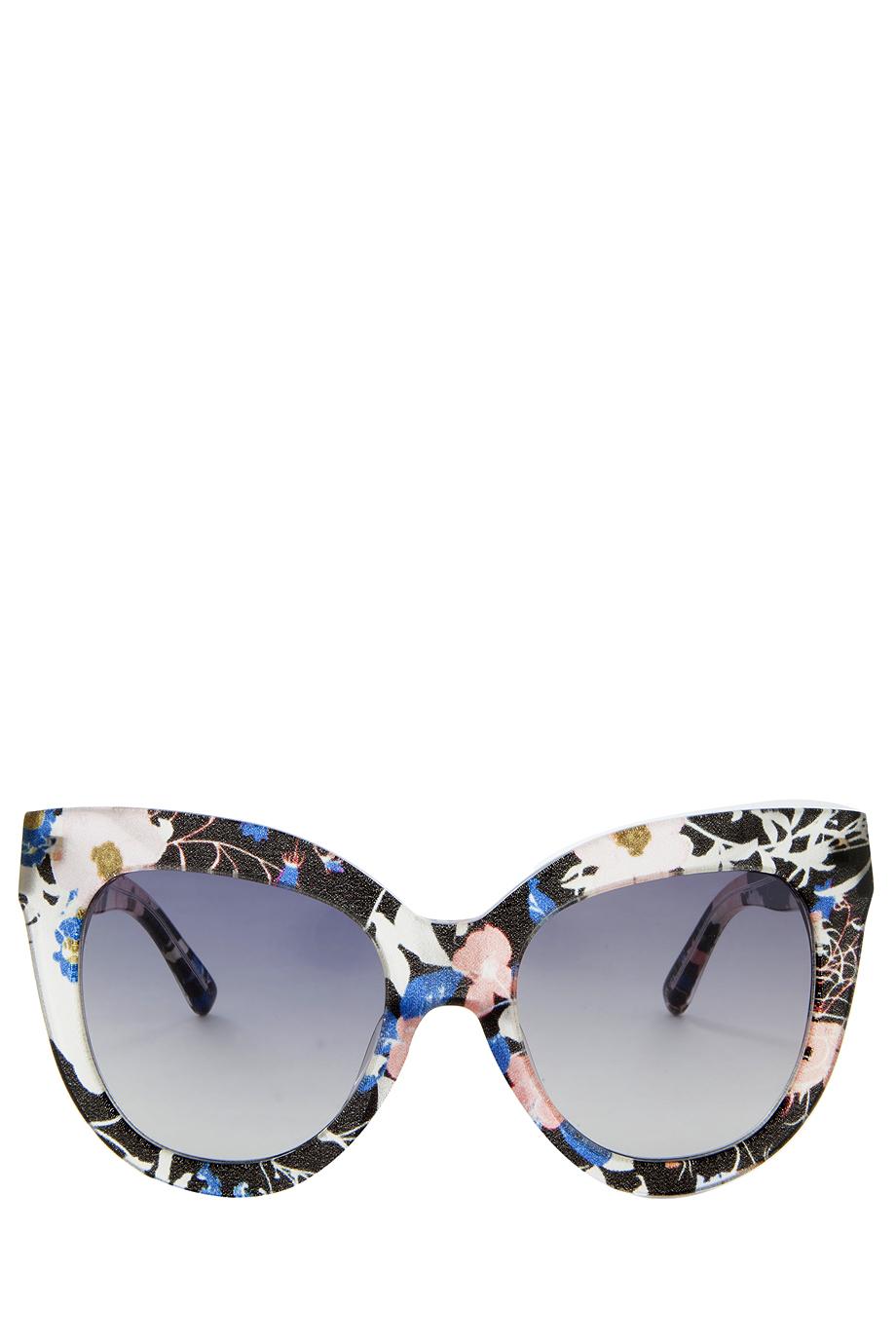 6890cfc8c3 Lyst - Erdem X Linda Farrow Acetate Sunglasses