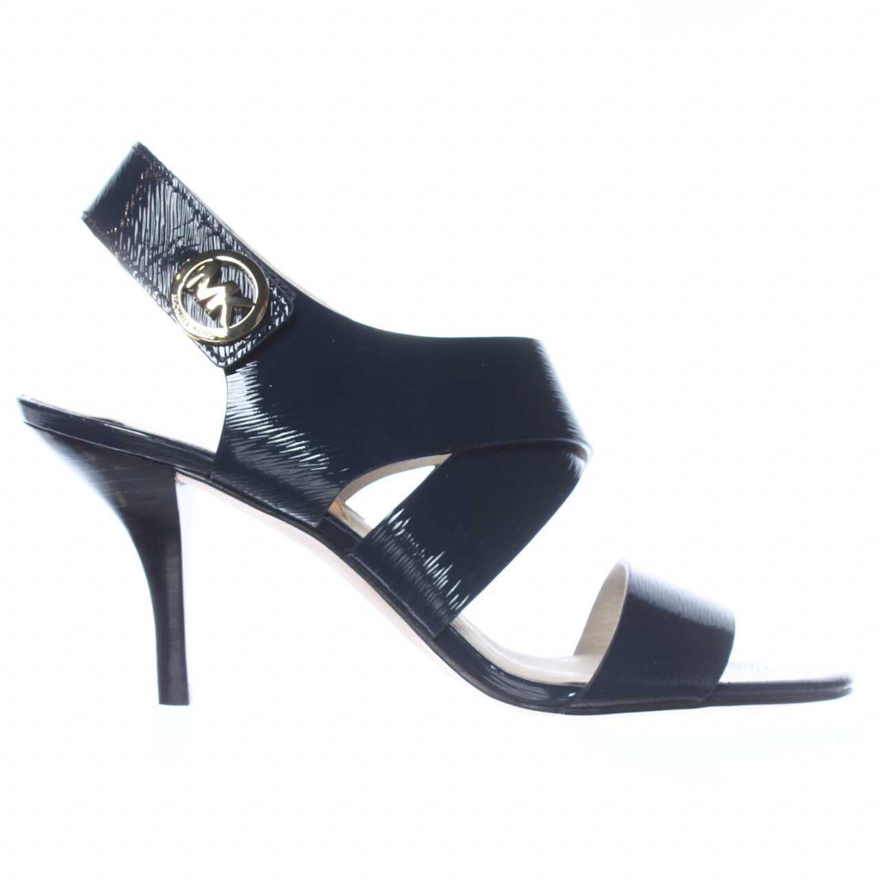 344cfdad694b0 Michael Kors Michael Joselle Open Toe Dress Sandals in Blue - Lyst