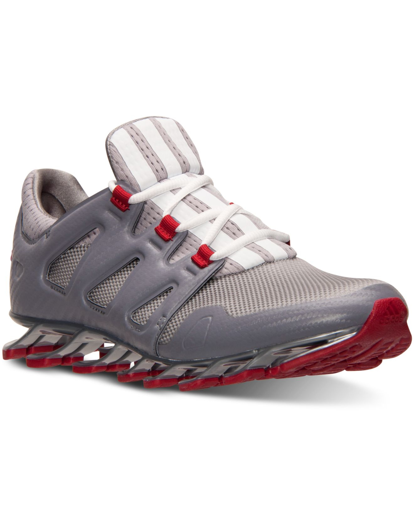 best loved a169b 77a9a ... adidas springblade pro red grey ...