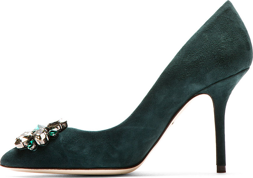 Dolce & Gabbana Suede Leather Pumps