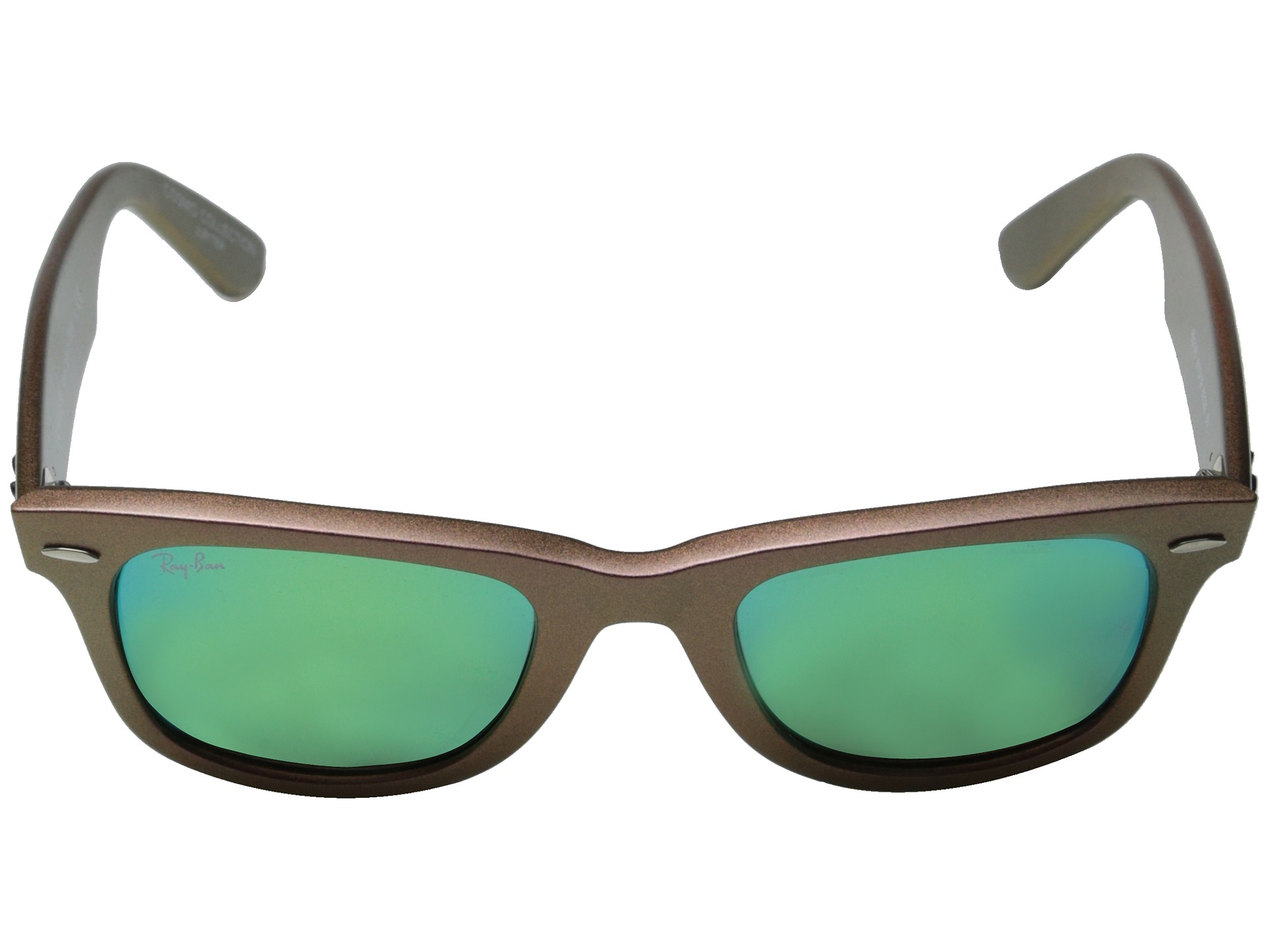 ac28fb7409a ... sunglasses 6bd8a 8401b  promo code for lyst ray ban rb2140 iridescent  colored wayfarer 50mm in pink 63376 06b15