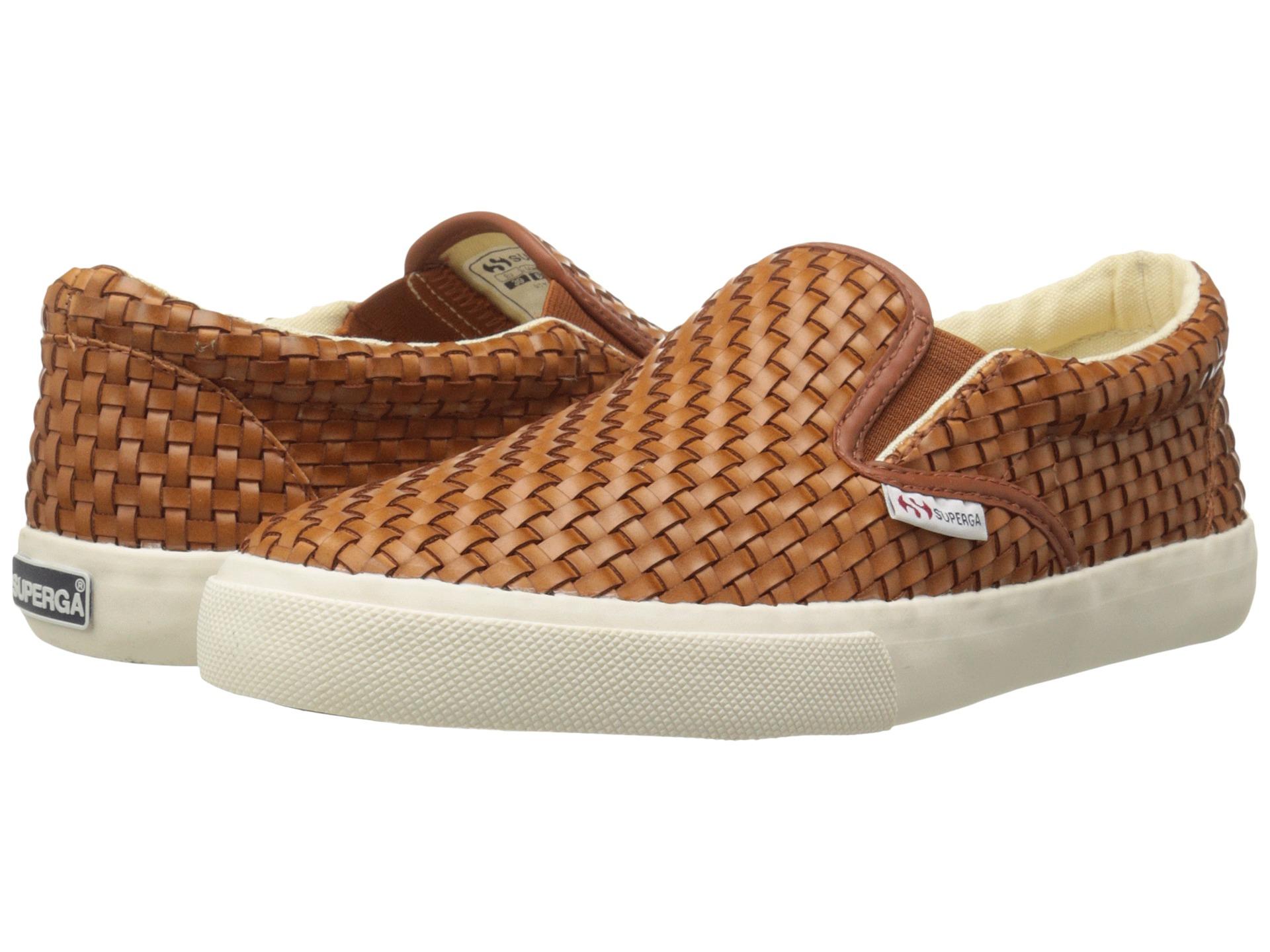 Womens Shoes Superga 2311 Wavedpuw Cognac