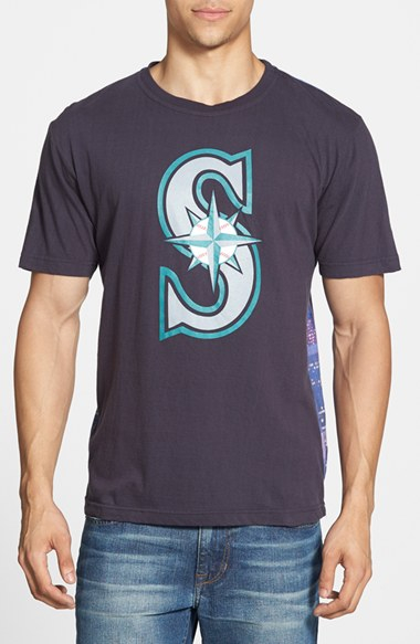 Wright ditson 39 seattle mariners metro 39 graphic print t for Seattle t shirt printing