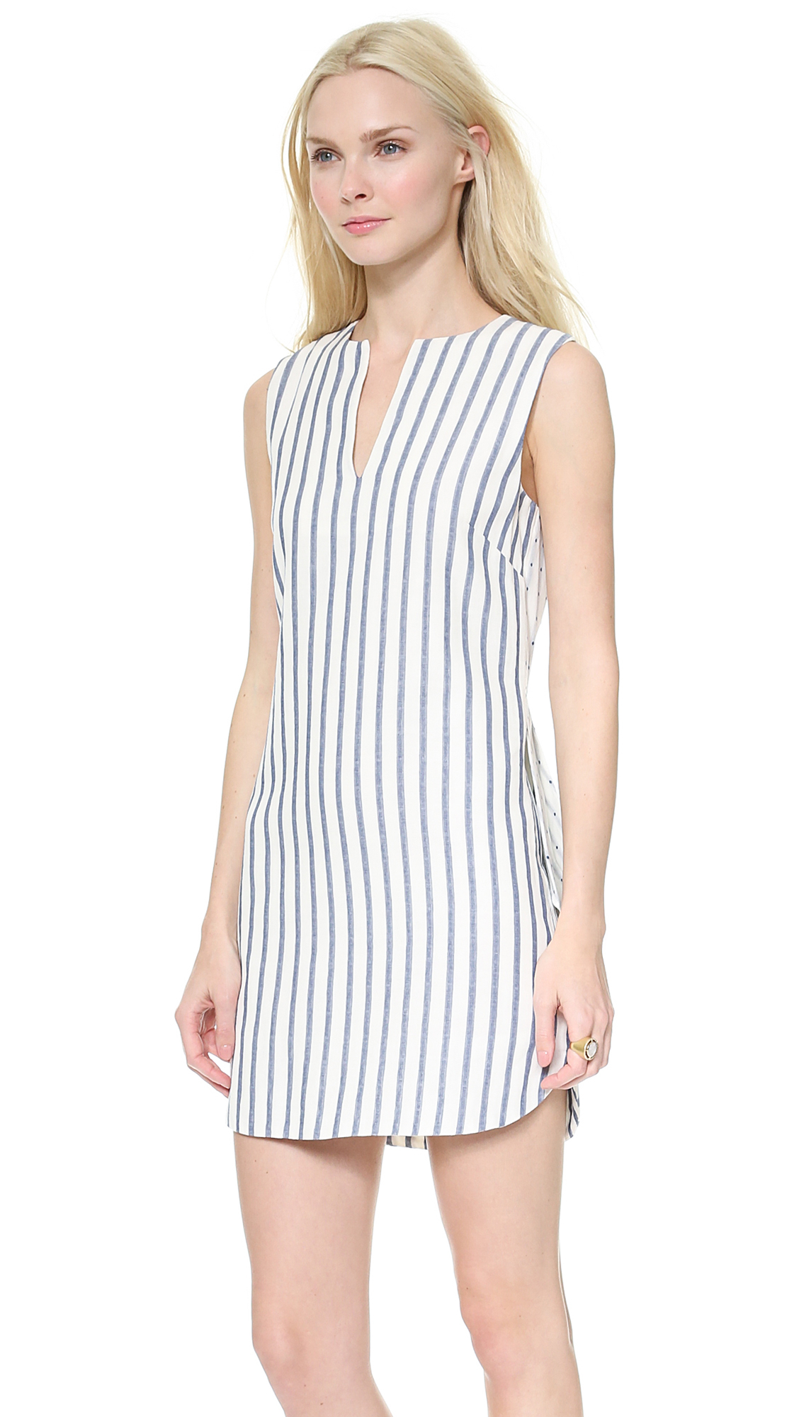 blue and white vertical striped dress wwwimgkidcom