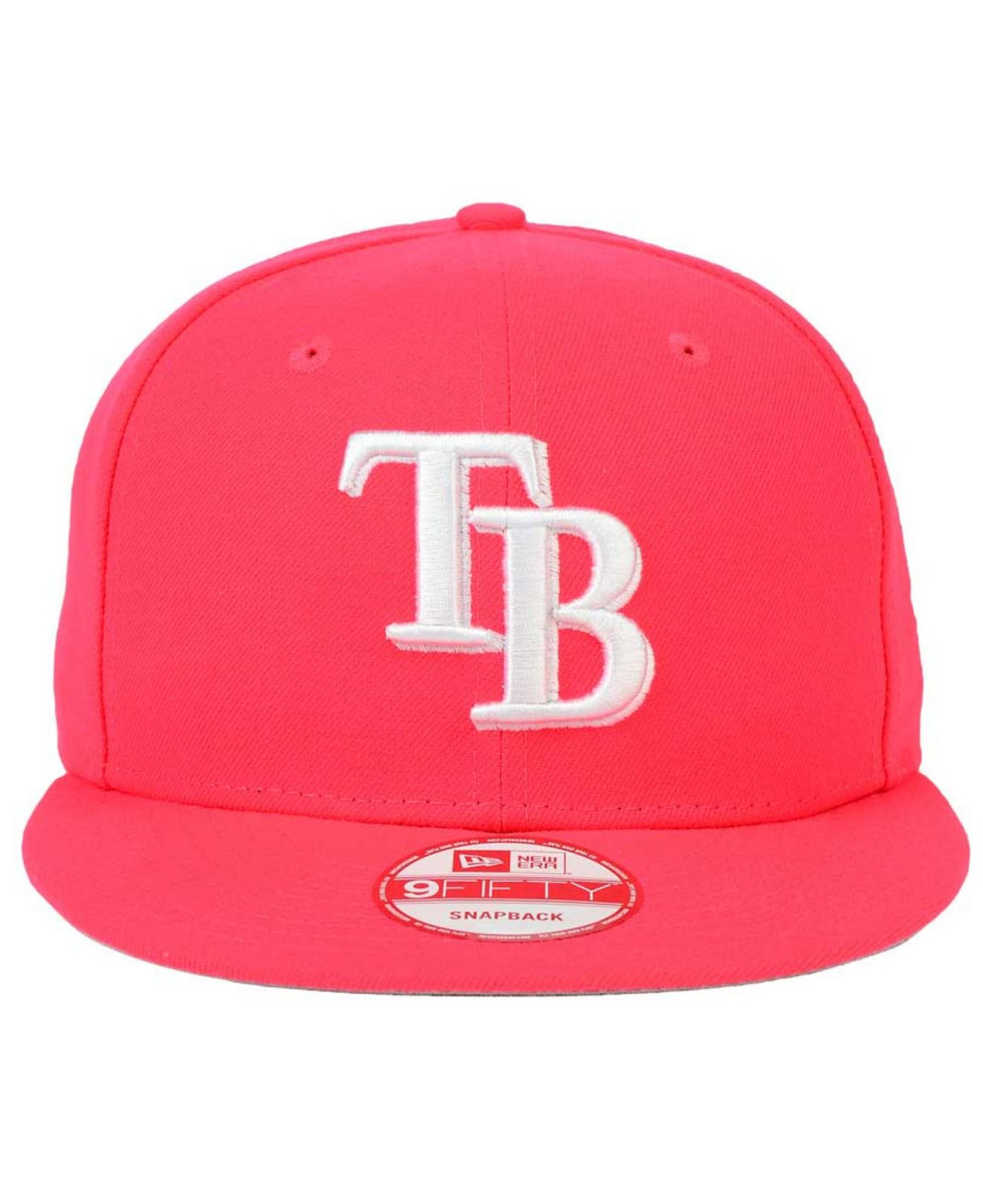huge discount 4f922 a1b96 Lyst - KTZ Tampa Bay Rays C-dub 9fifty Snapback Cap in Red