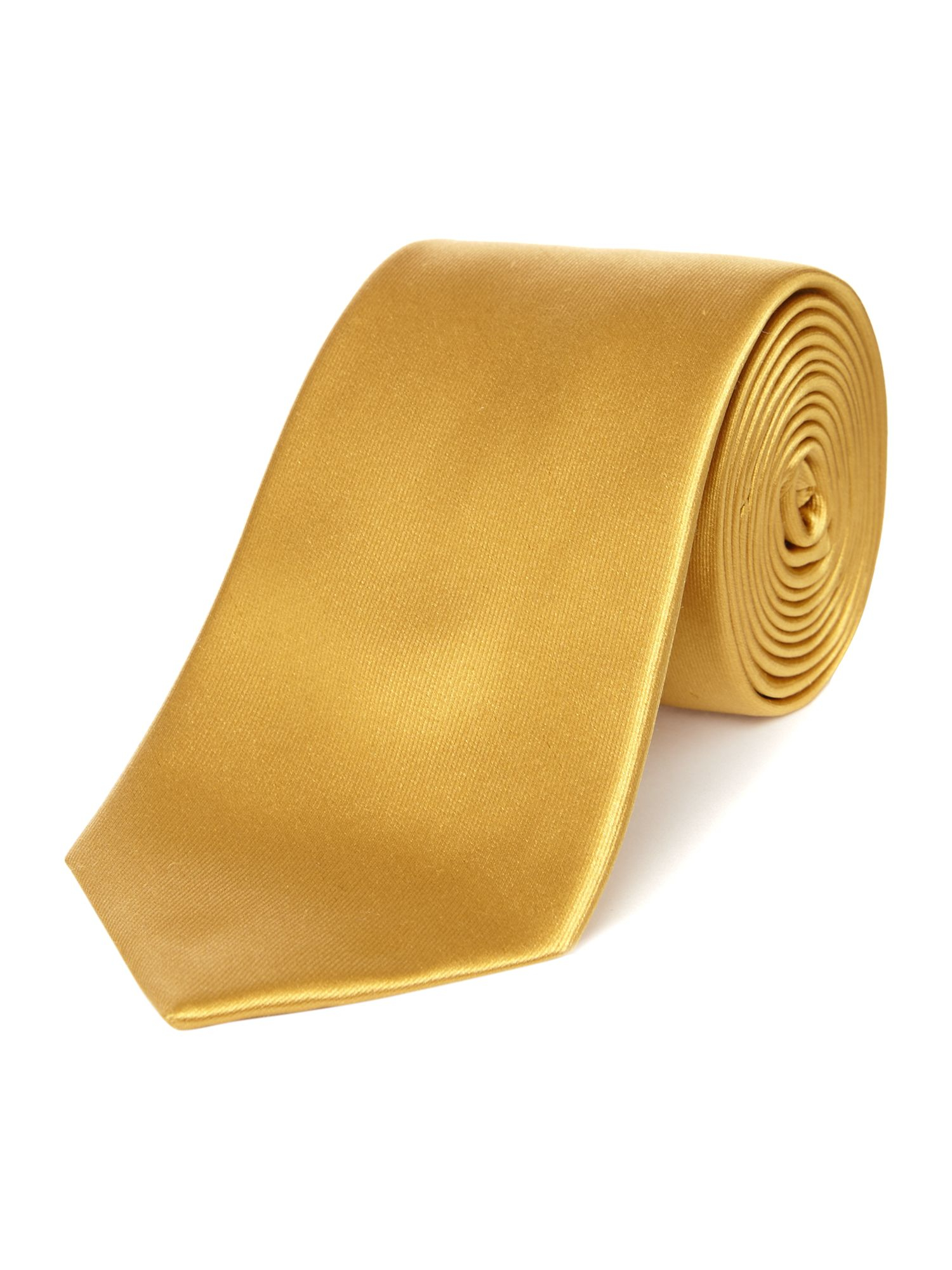 howick bishop silk tie in gold for lyst
