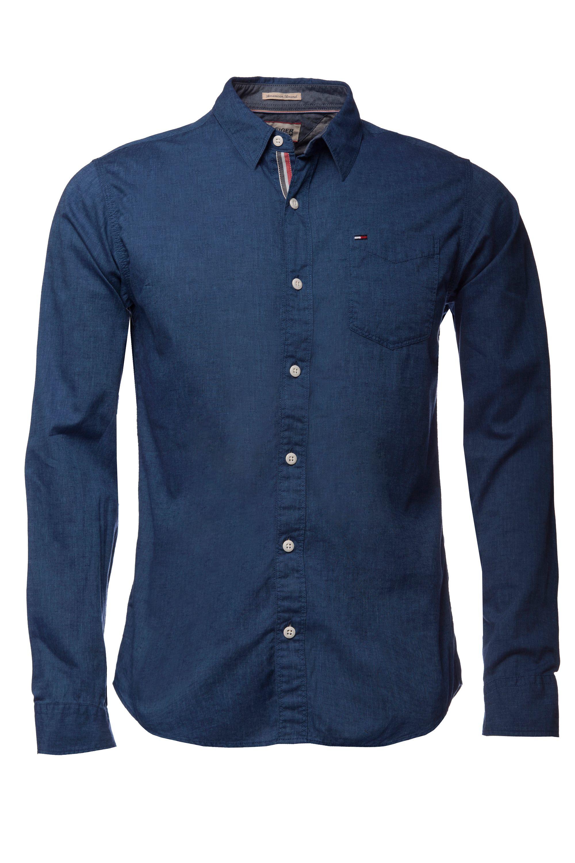 Tommy hilfiger Teddy Shirt in Blue for Men | Lyst