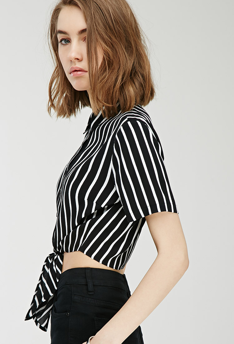 23131865fd0bc4 Striped Shirts Forever 21