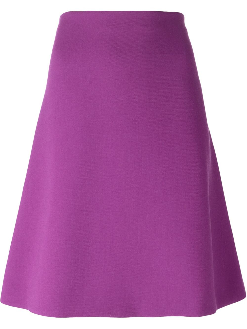 marni classic a line skirt in pink pink purple lyst