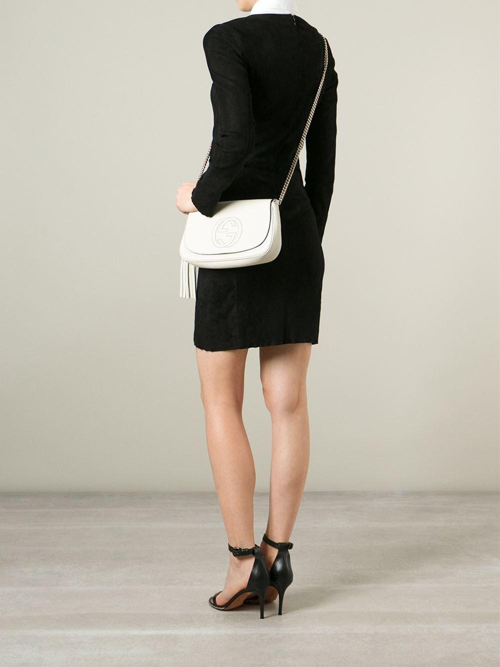 68533e209708 Gallery. Previously sold at: Farfetch · Women's Gucci Soho Bag