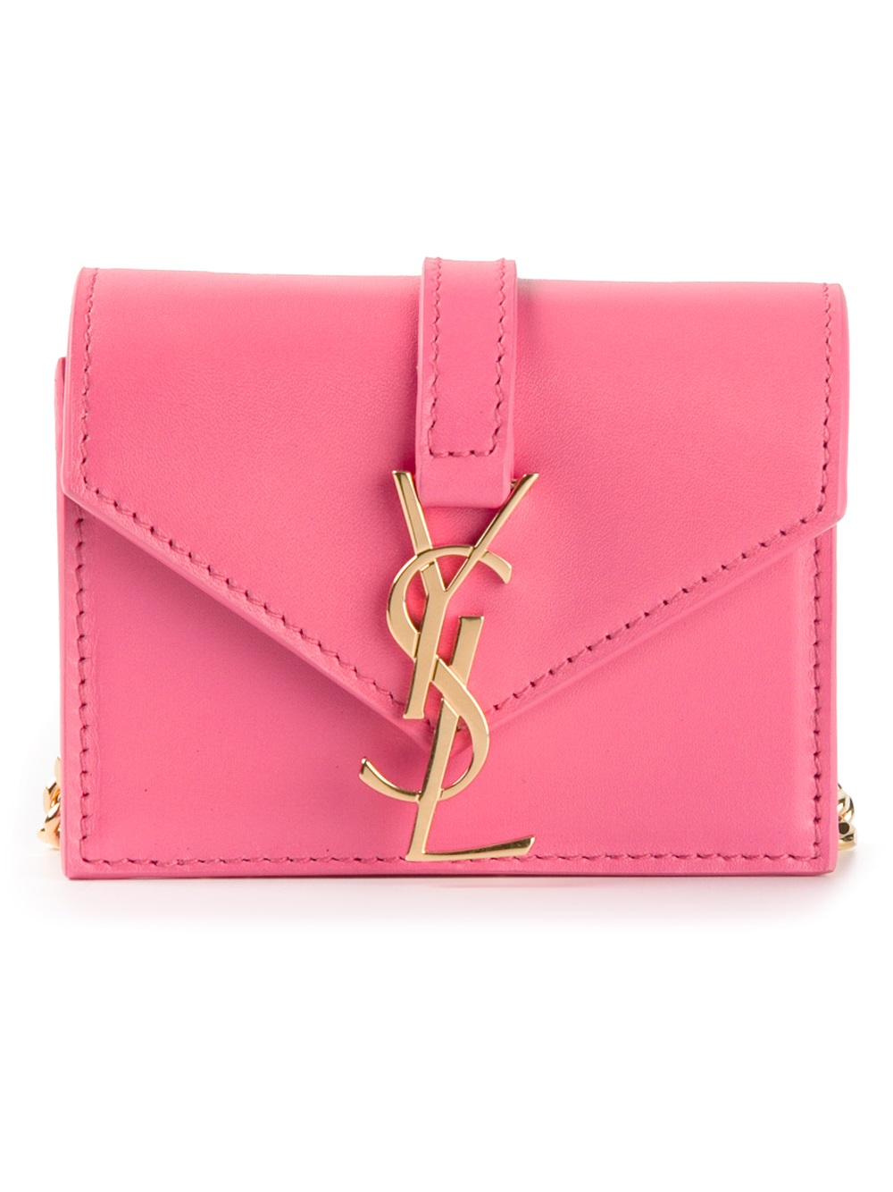 1997d2a6122f Lyst - Saint Laurent Monogramme Candy Bag in Pink