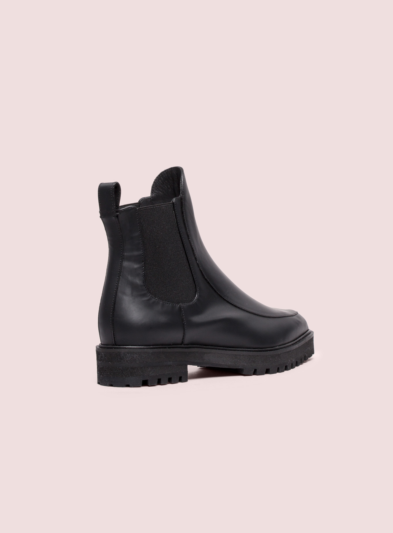 Proenza schouler Flat Ankle Boot in Black | Lyst