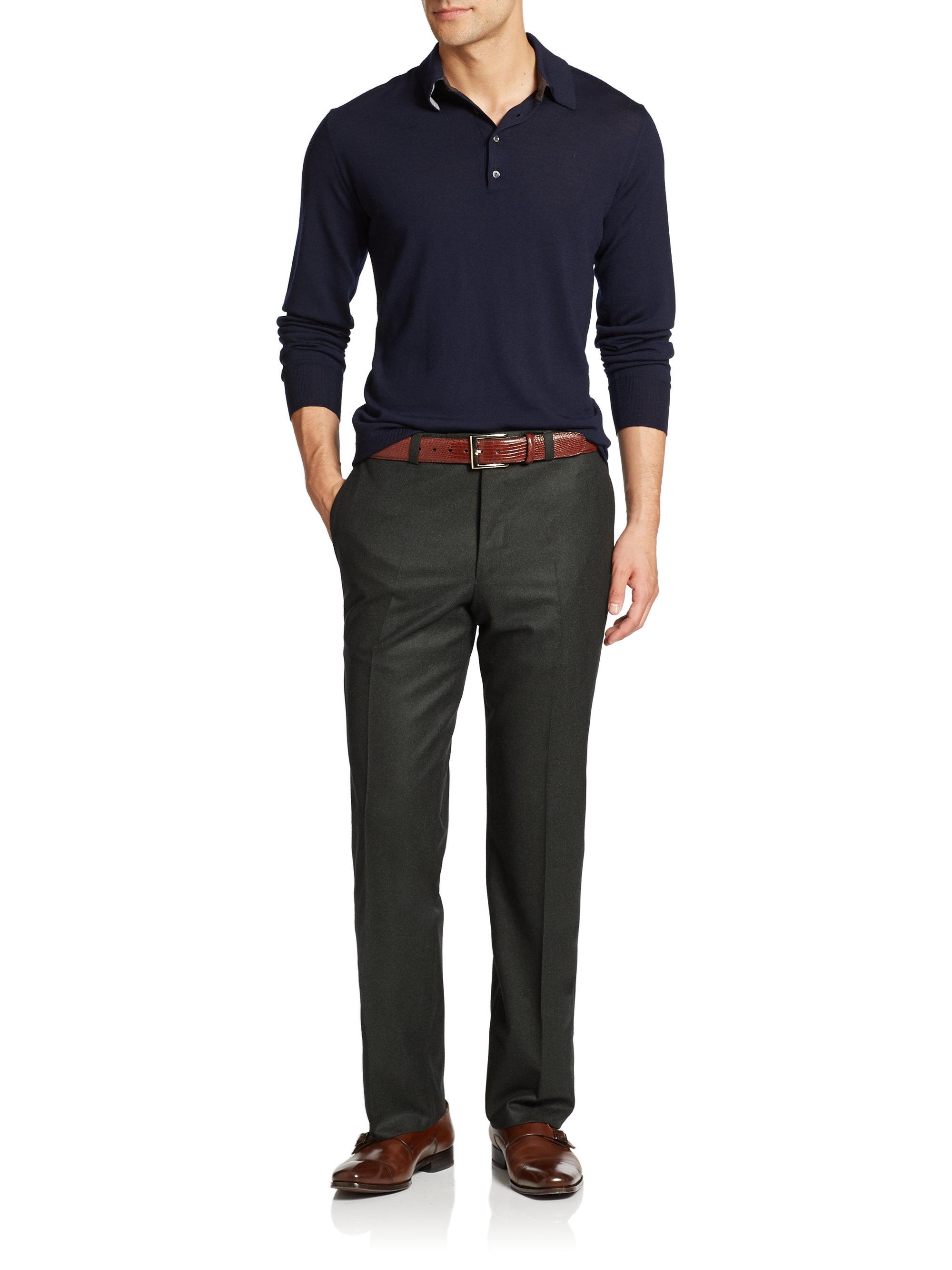 Olive Green Jeans For Men