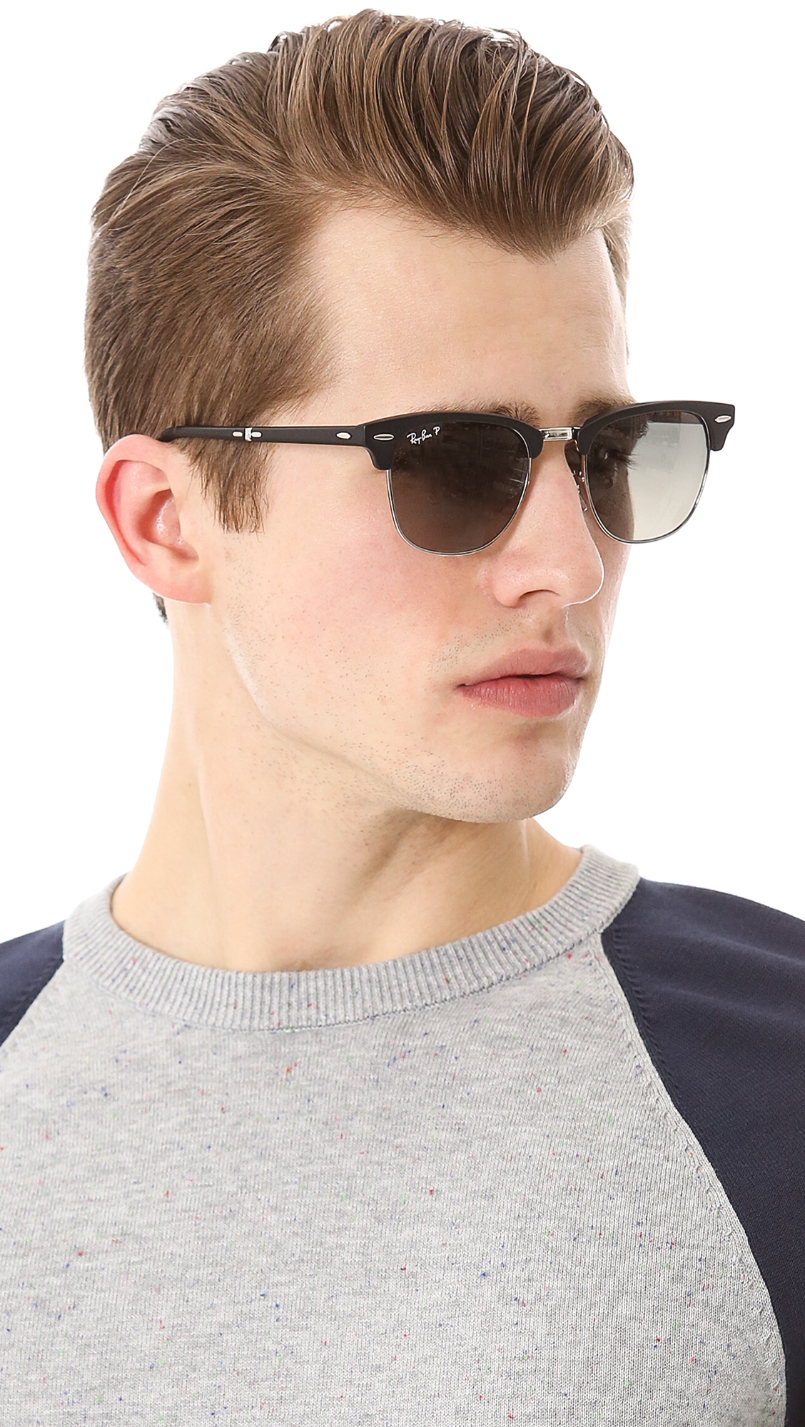 ray ban unisex sunglasses clubmaster  gallery. previously sold at: east dane · men's ray ban clubmaster