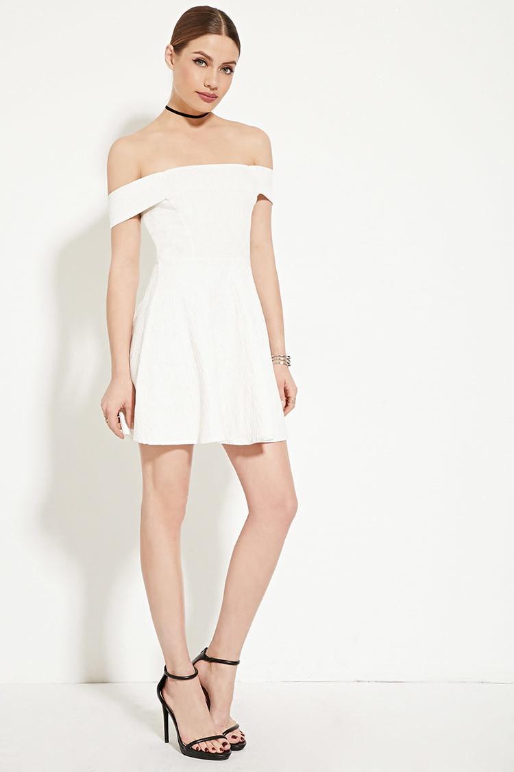 White Cocktail Dresses Forever 21