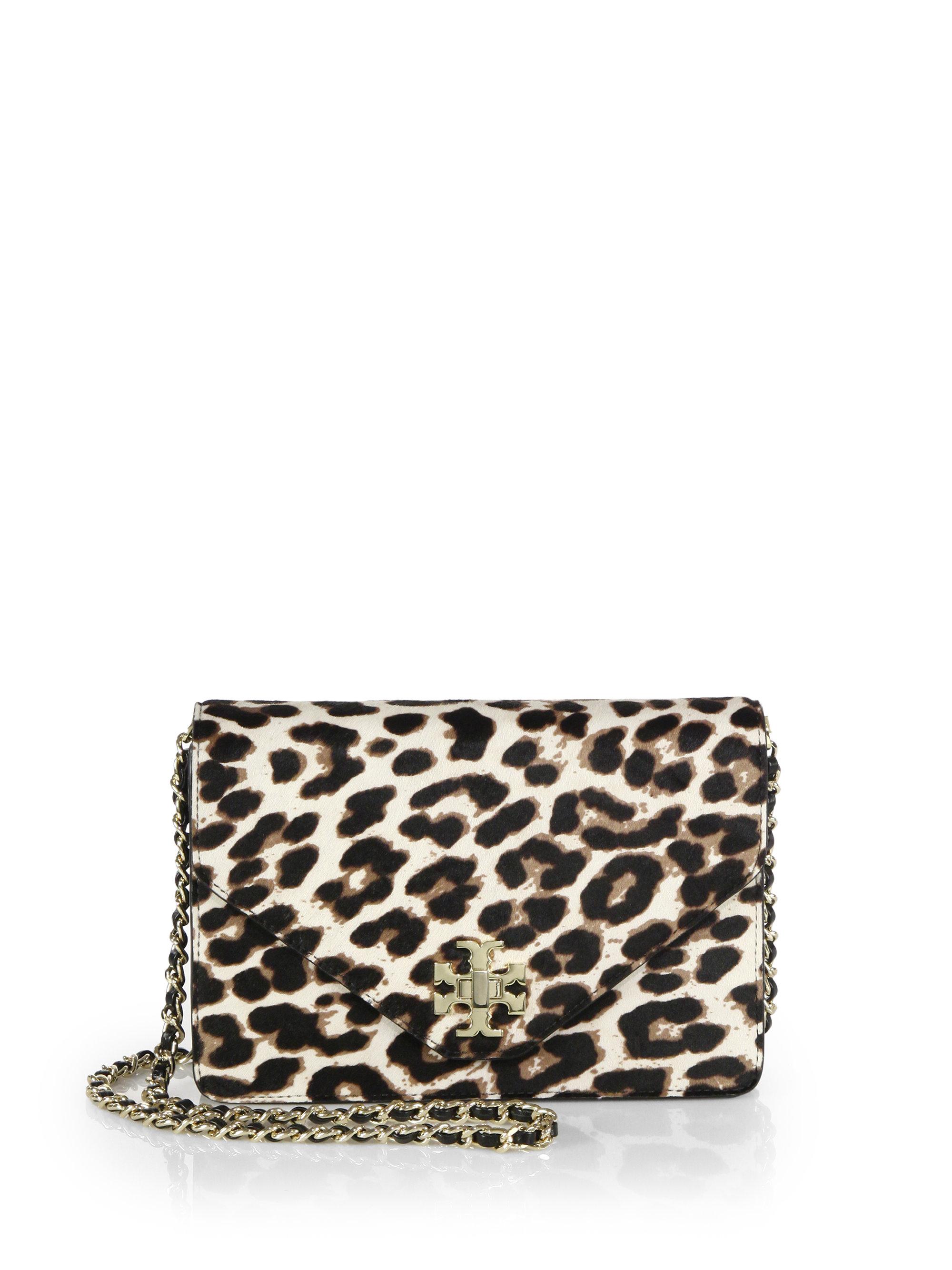 f117c5abf73 ... cheap lyst tory burch kira leopard print calf hair envelope crossbody  bag 65c5a edc4e
