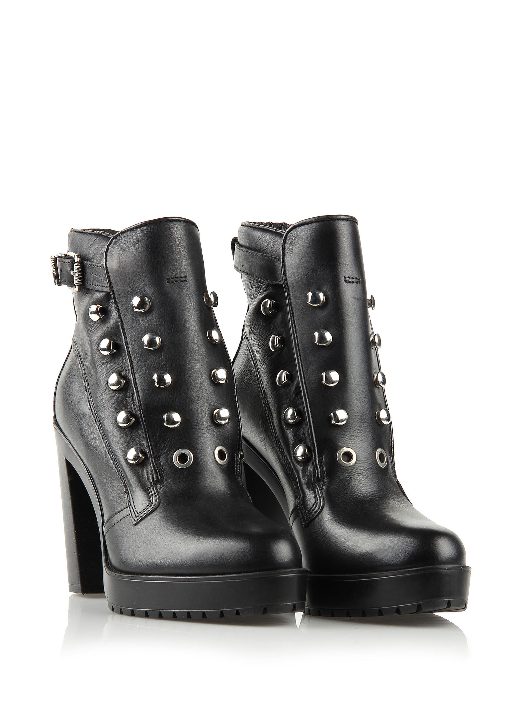 high ankle boots - Black Diesel pSIwCgf