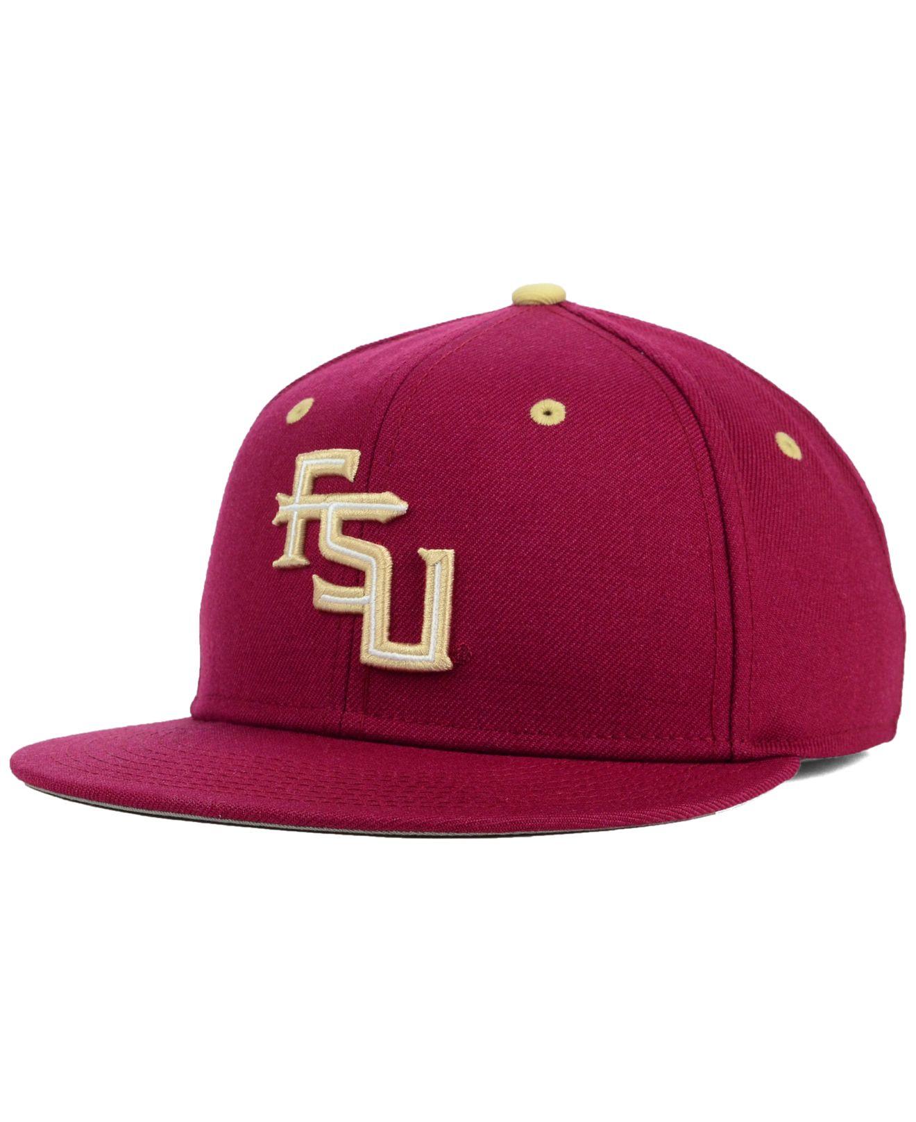 de05a82a04e ... ebay lyst nike florida state seminoles true college fitted cap in 50f55  3e685