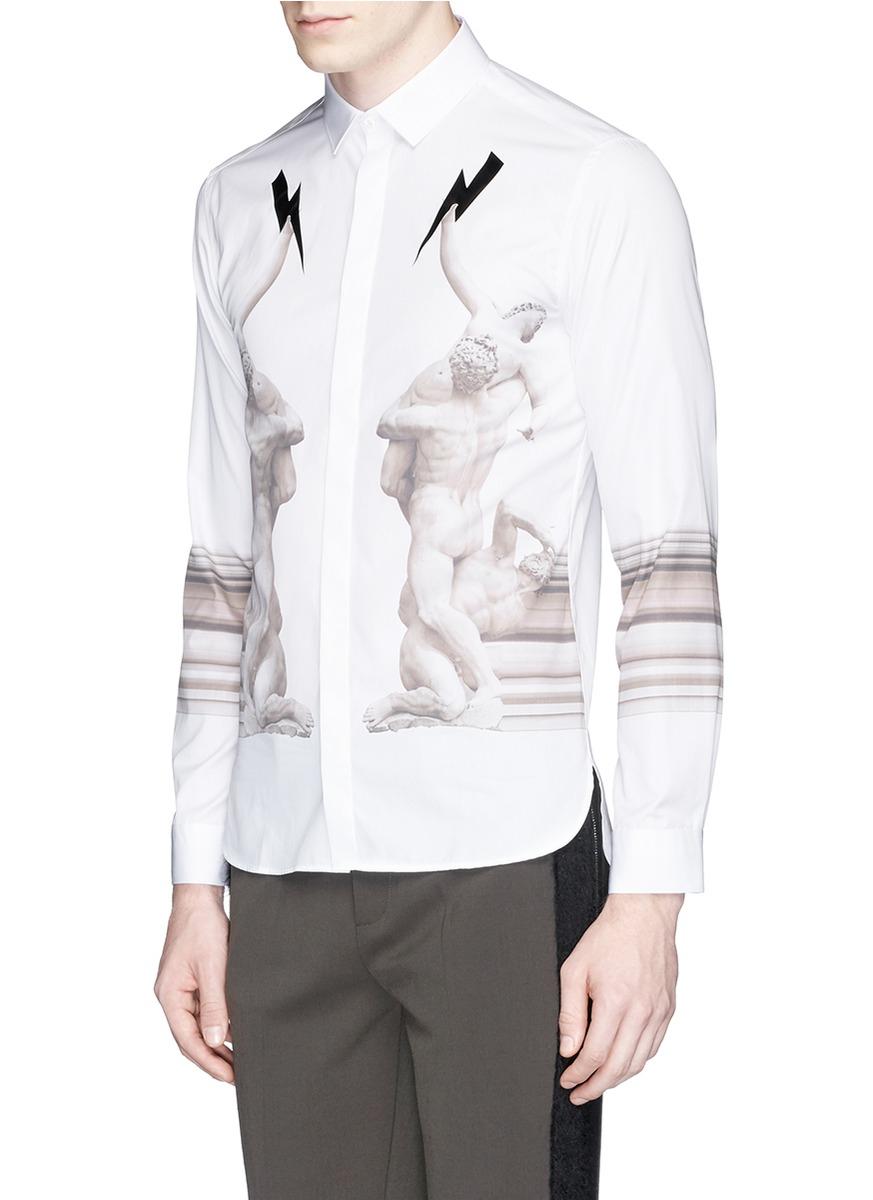 Sale Perfect Free Shipping Original long classic shirt - White Neil Barrett XIgwh