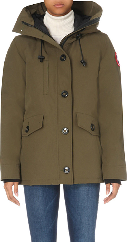 Canada Goose chilliwack parka replica discounts - Canada goose Rideau Shell Parka in Green (Military green) | Lyst