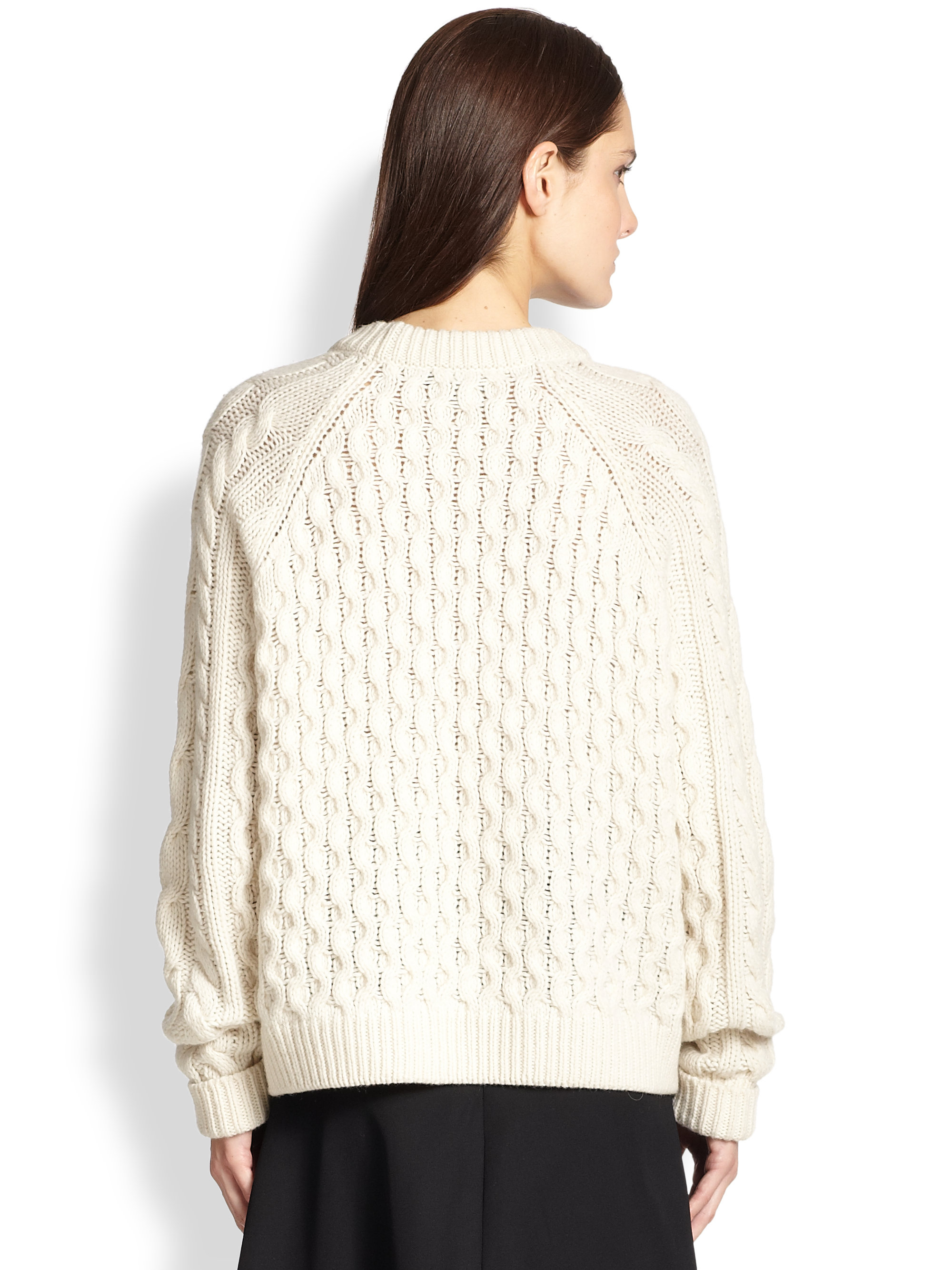 472deea6dc Gallery. Previously sold at  Saks Fifth Avenue · Women s Cable Knit Sweaters